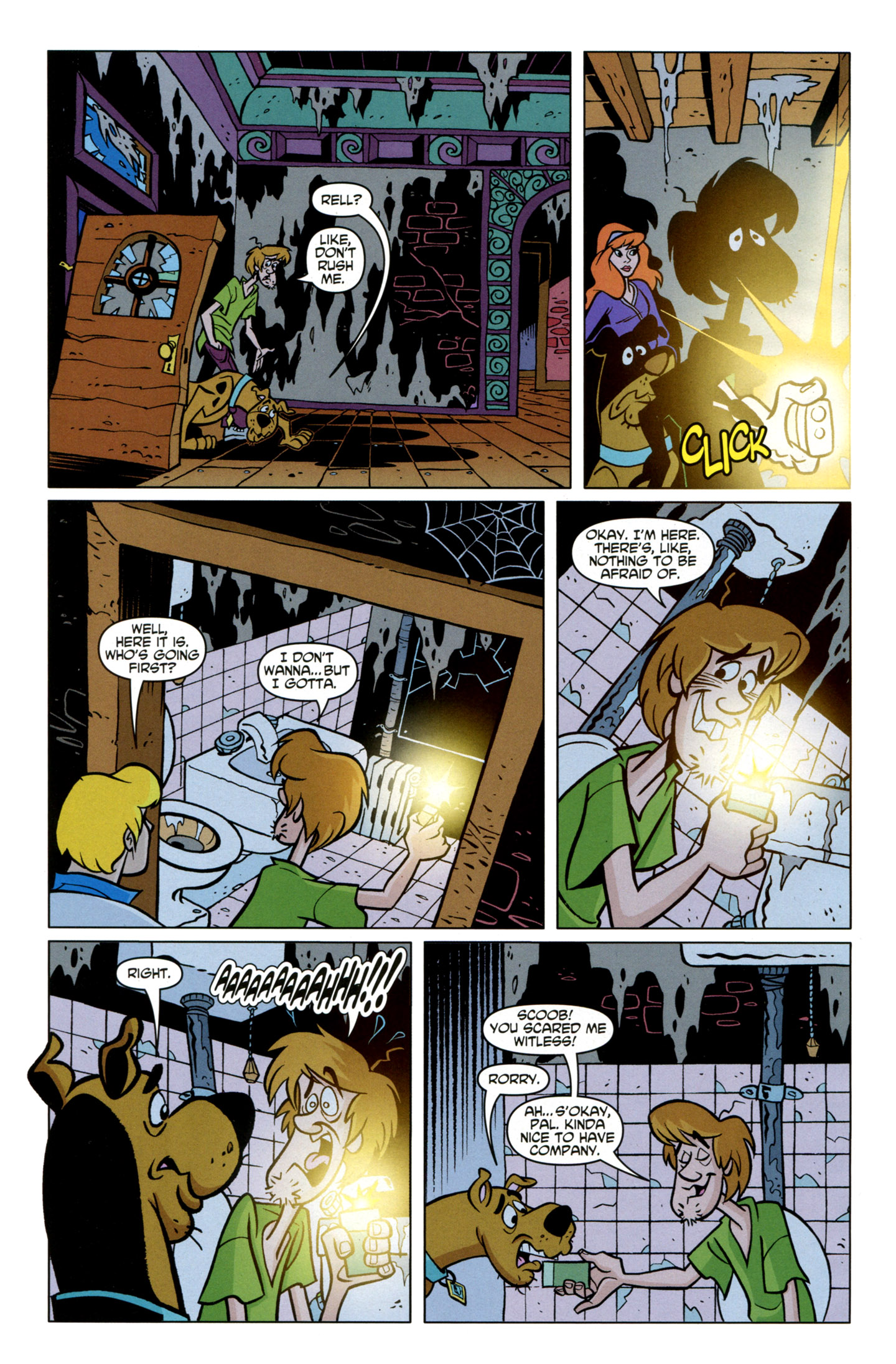 Read online Scooby-Doo: Where Are You? comic -  Issue #21 - 28