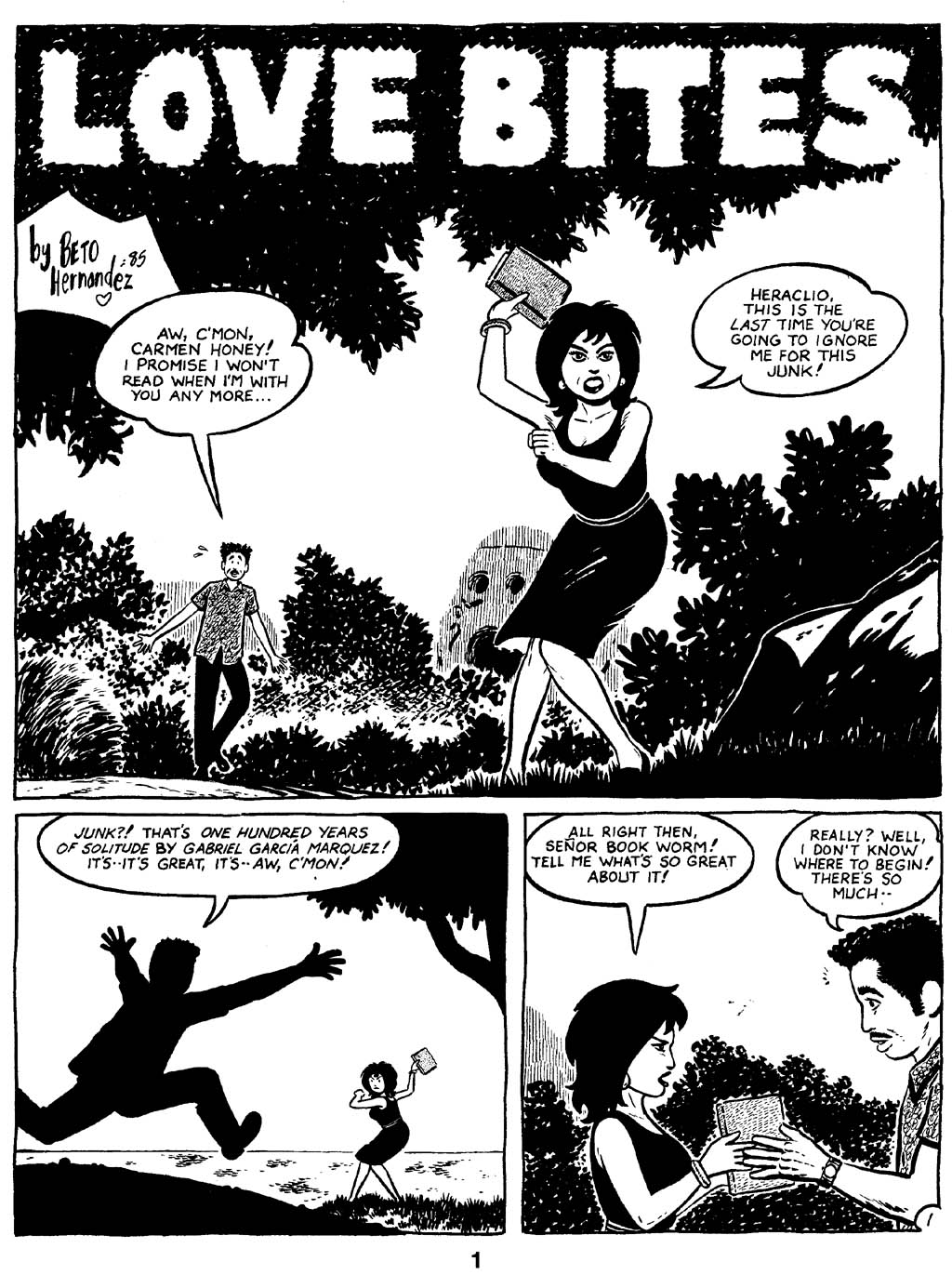 Love and Rockets (1982) Issue #16 #15 - English 3