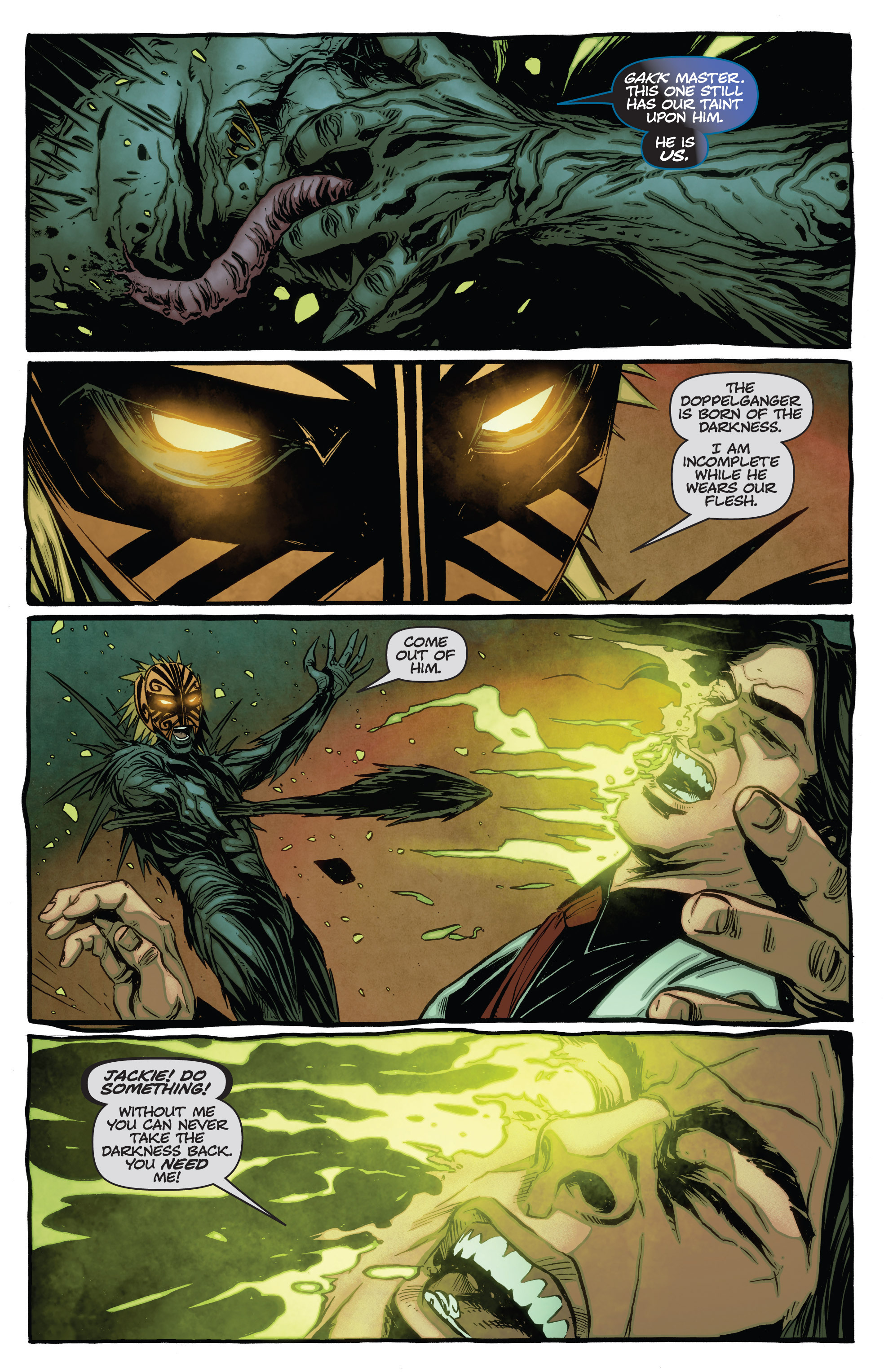 Read online The Darkness (2007) comic -  Issue #115 - 8