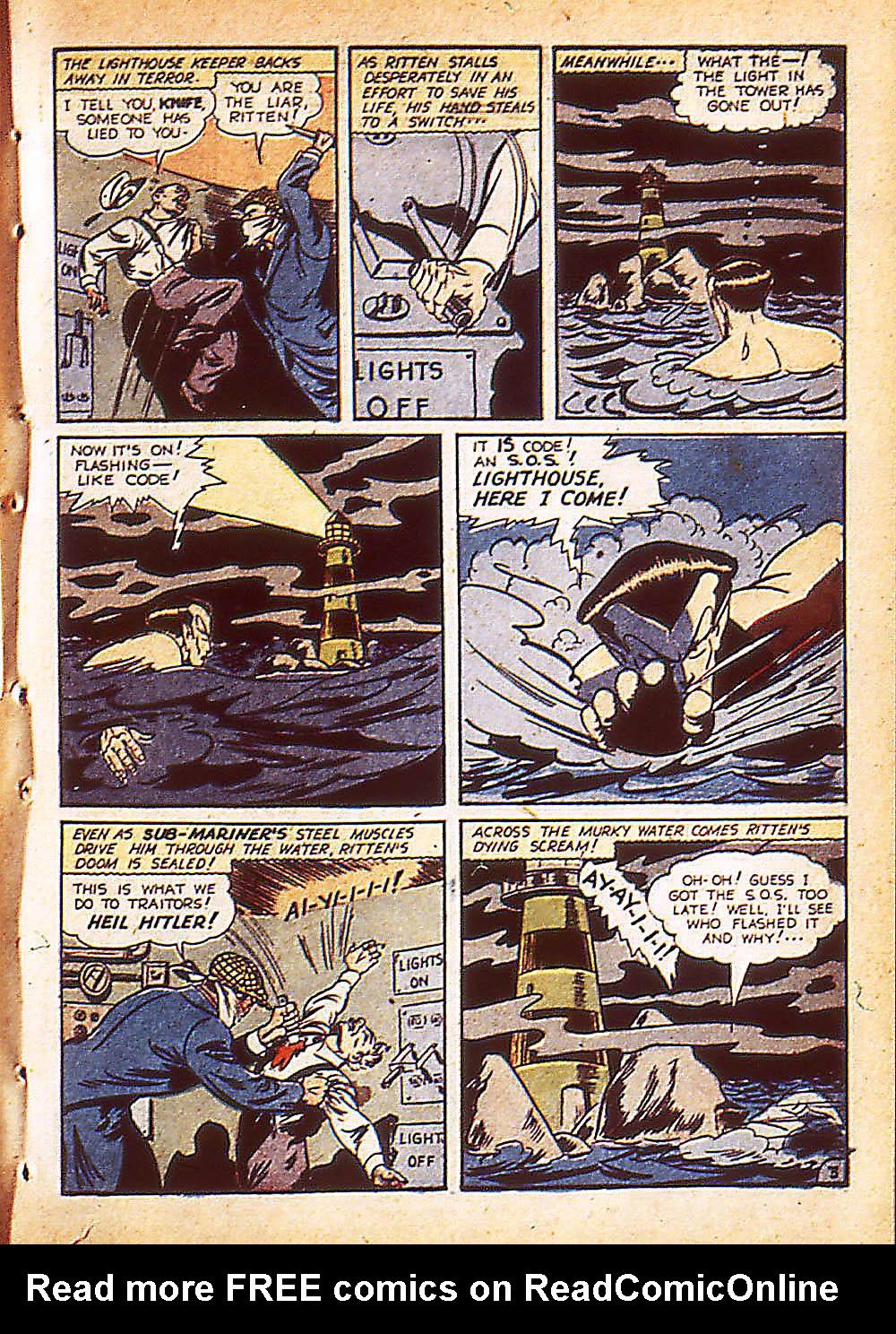Sub-Mariner Comics Issue #8 #8 - English 6