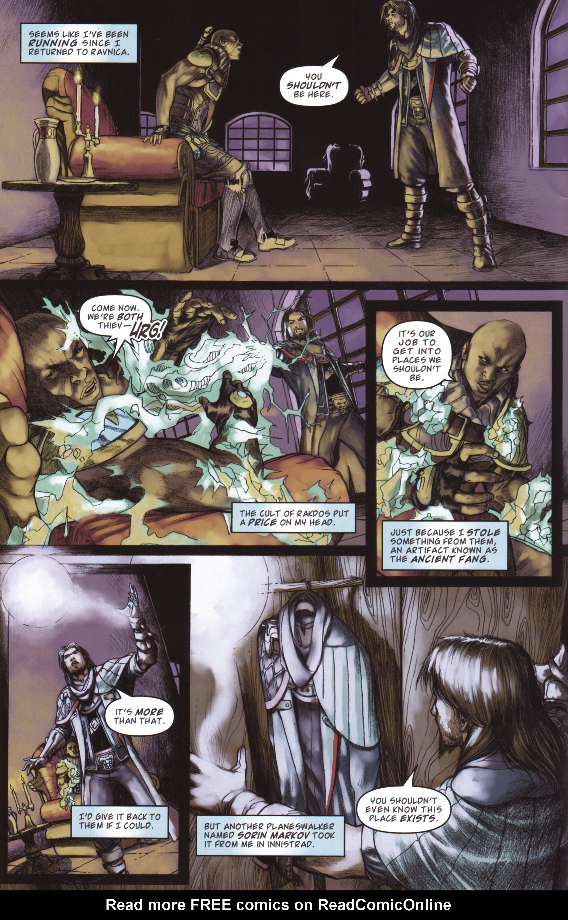 Read online Magic: The Gathering--Path of Vengeance comic -  Issue #2 - 4