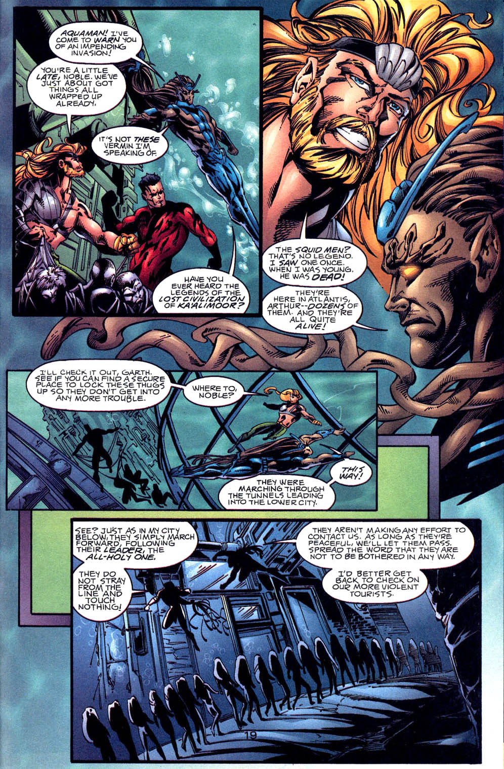 Aquaman (1994) Issue #60 #66 - English 20