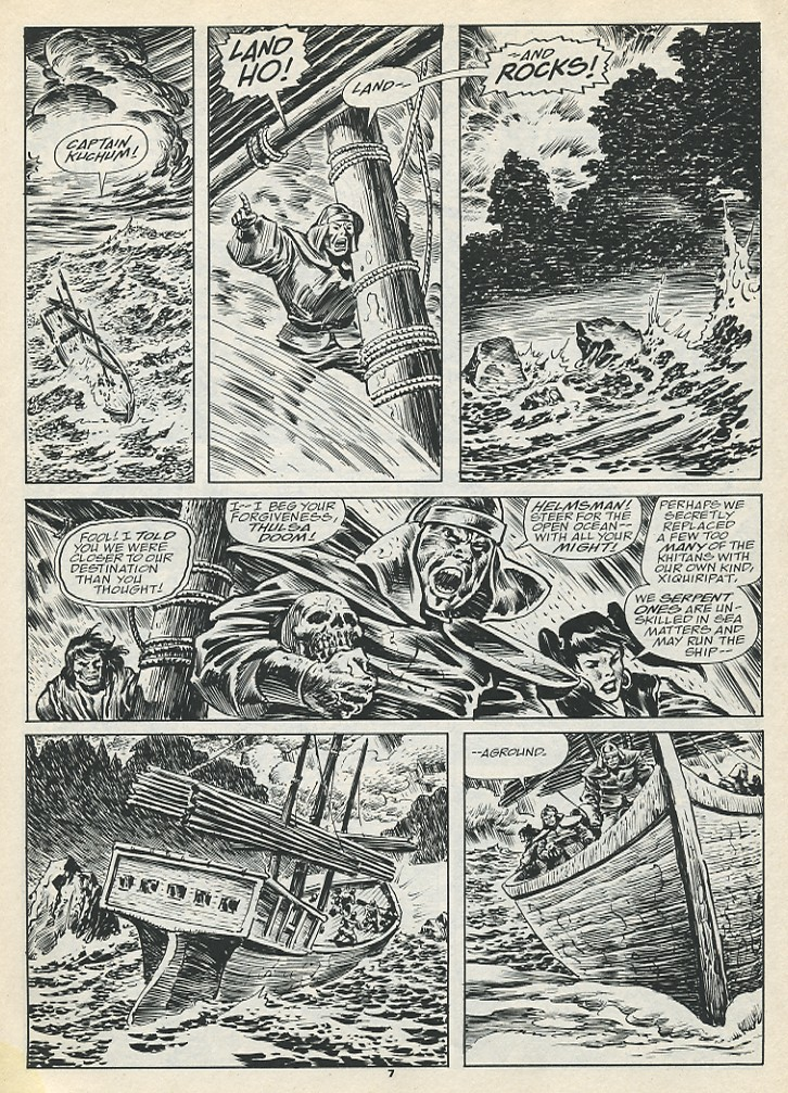 The Savage Sword Of Conan Issue #193 #194 - English 9