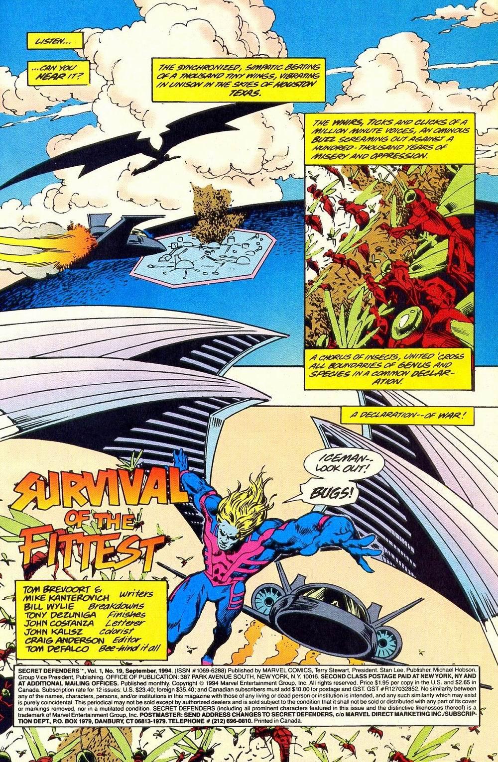 Read online Secret Defenders comic -  Issue #19 - 2