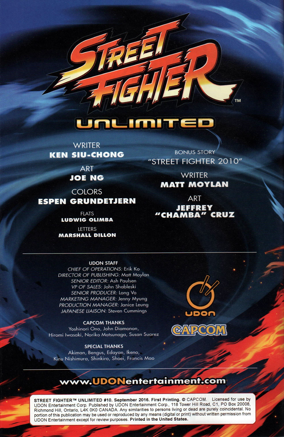 Street Fighter Unlimited Issue #10 #12 - English 4