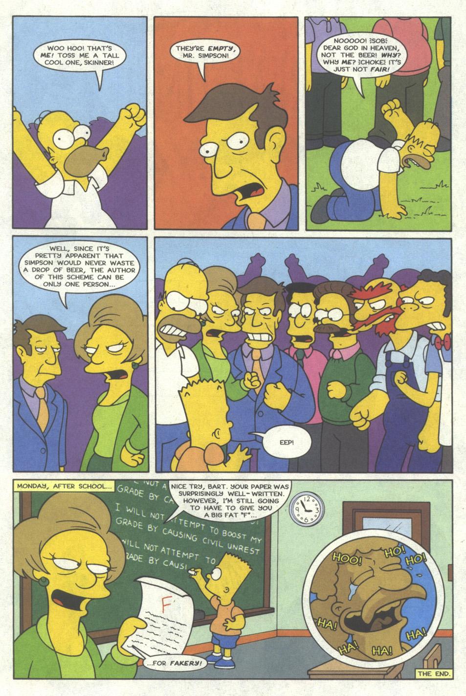 Read online Simpsons Comics comic -  Issue #19 - 20