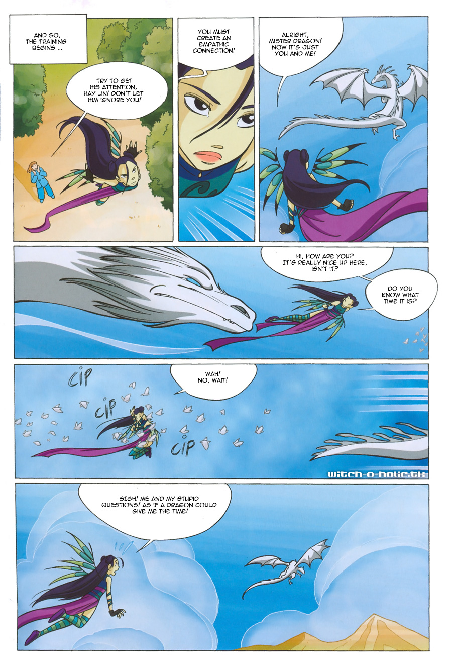 Read online W.i.t.c.h. comic -  Issue #135 - 11