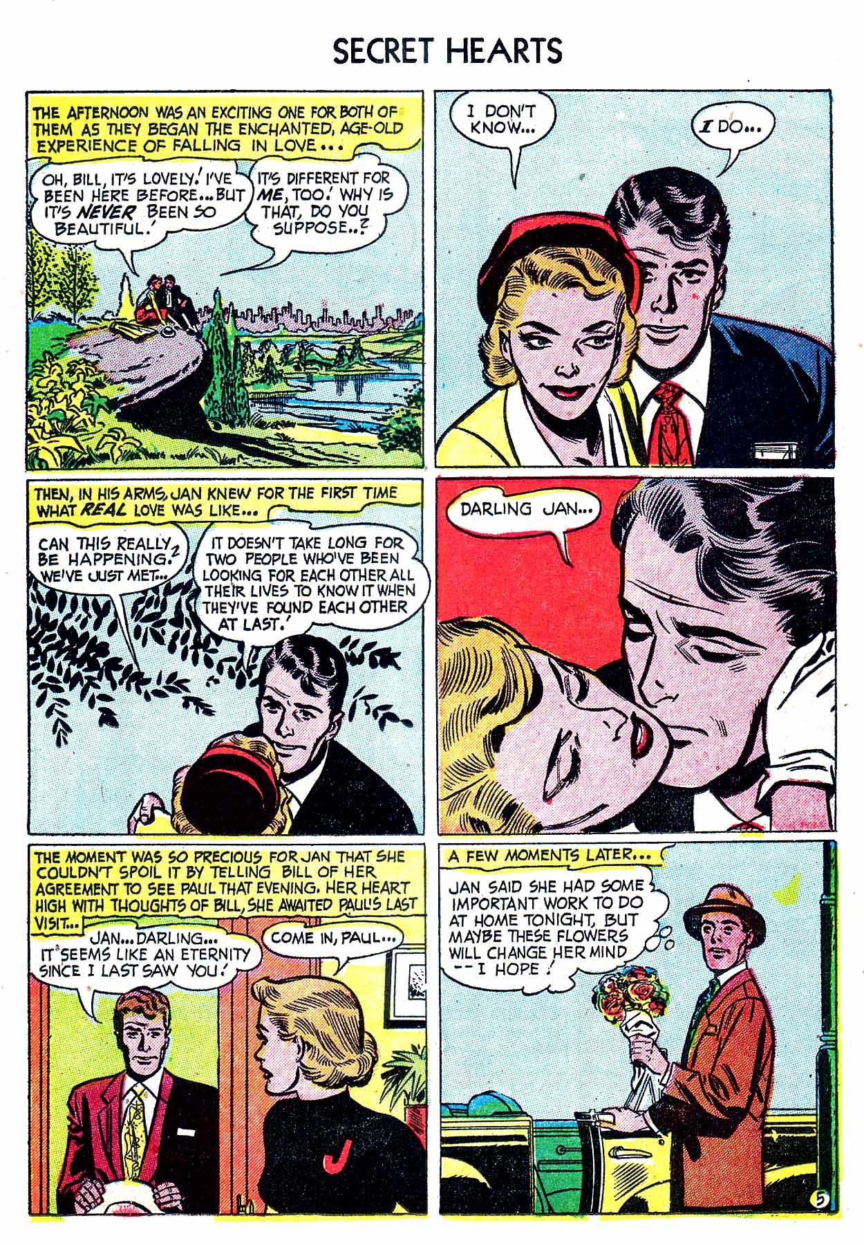 Read online Secret Hearts comic -  Issue #8 - 15