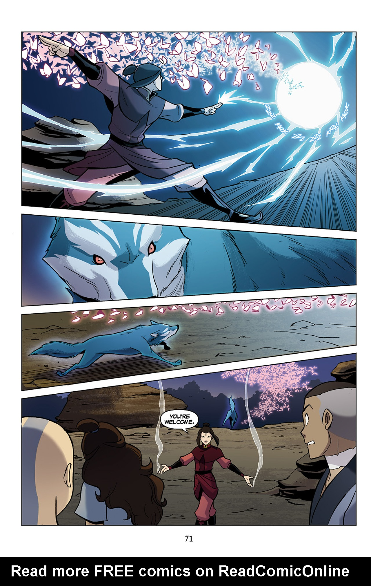 Read online Nickelodeon Avatar: The Last Airbender - The Search comic -  Issue # Part 1 - 72
