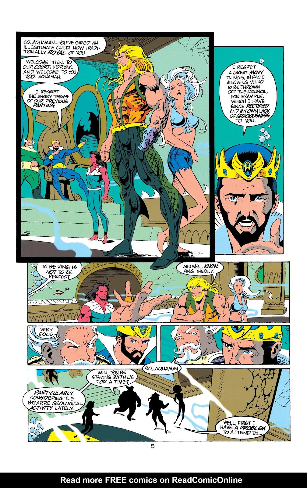 Aquaman (1994) Issue #9 #15 - English 6