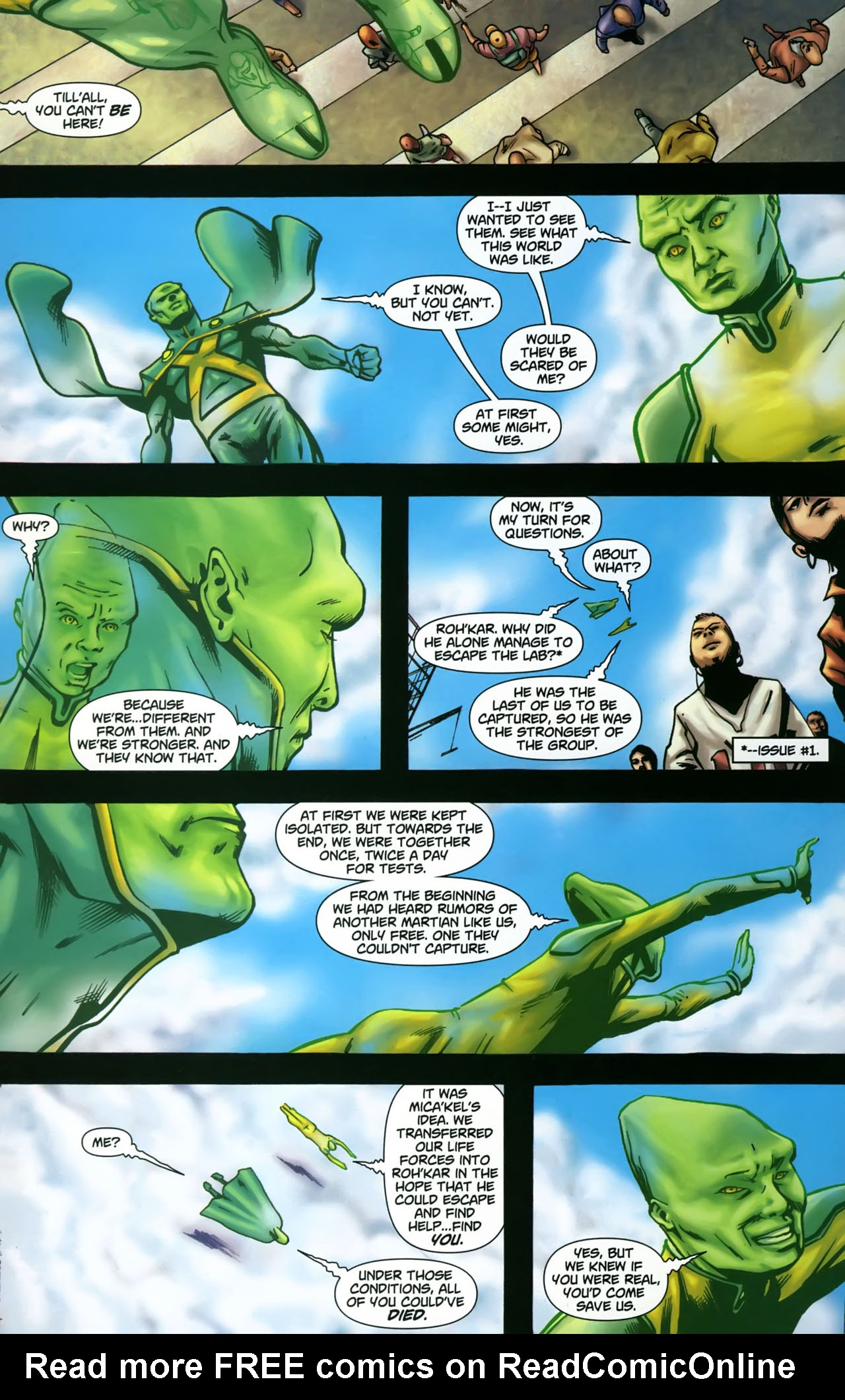 Read online Martian Manhunter (2006) comic -  Issue #3 - 10