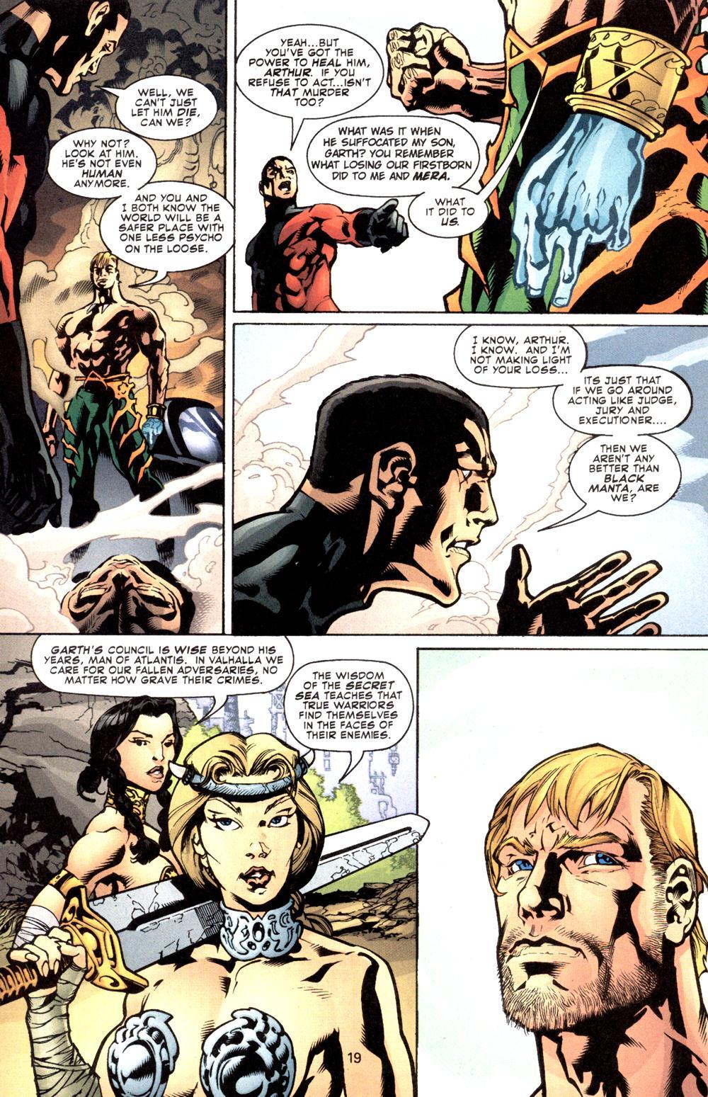 Aquaman (2003) Issue #8 #8 - English 20