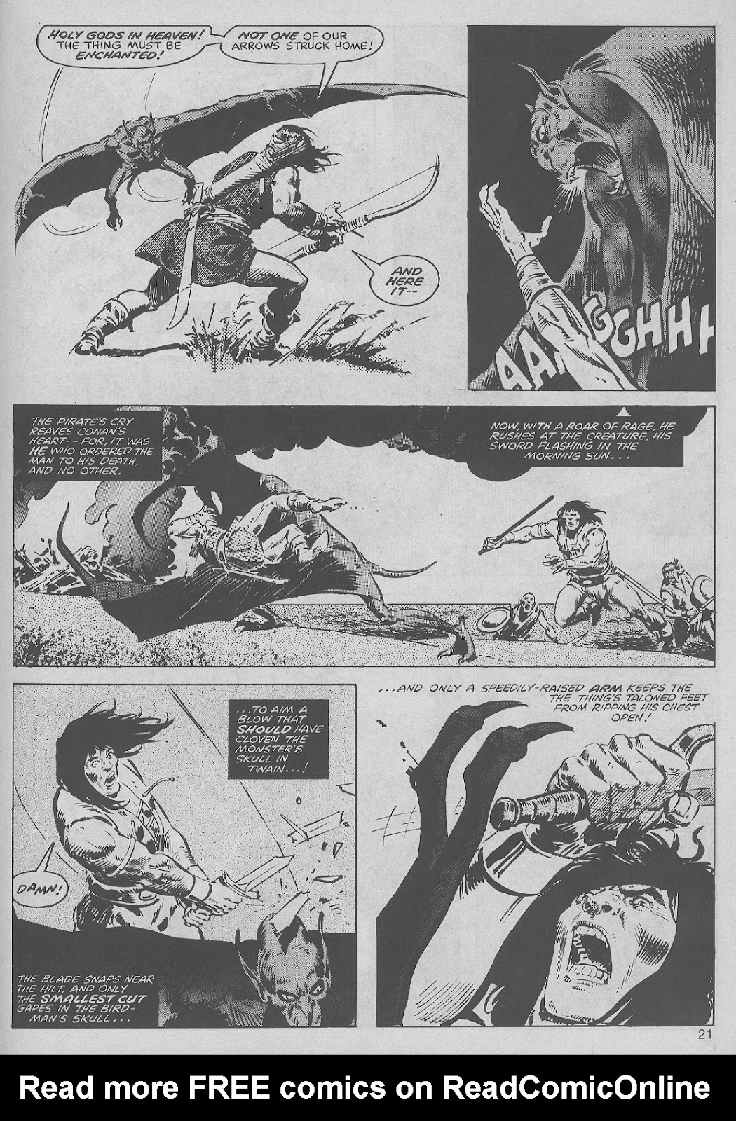 The Savage Sword Of Conan Issue #45 #46 - English 21