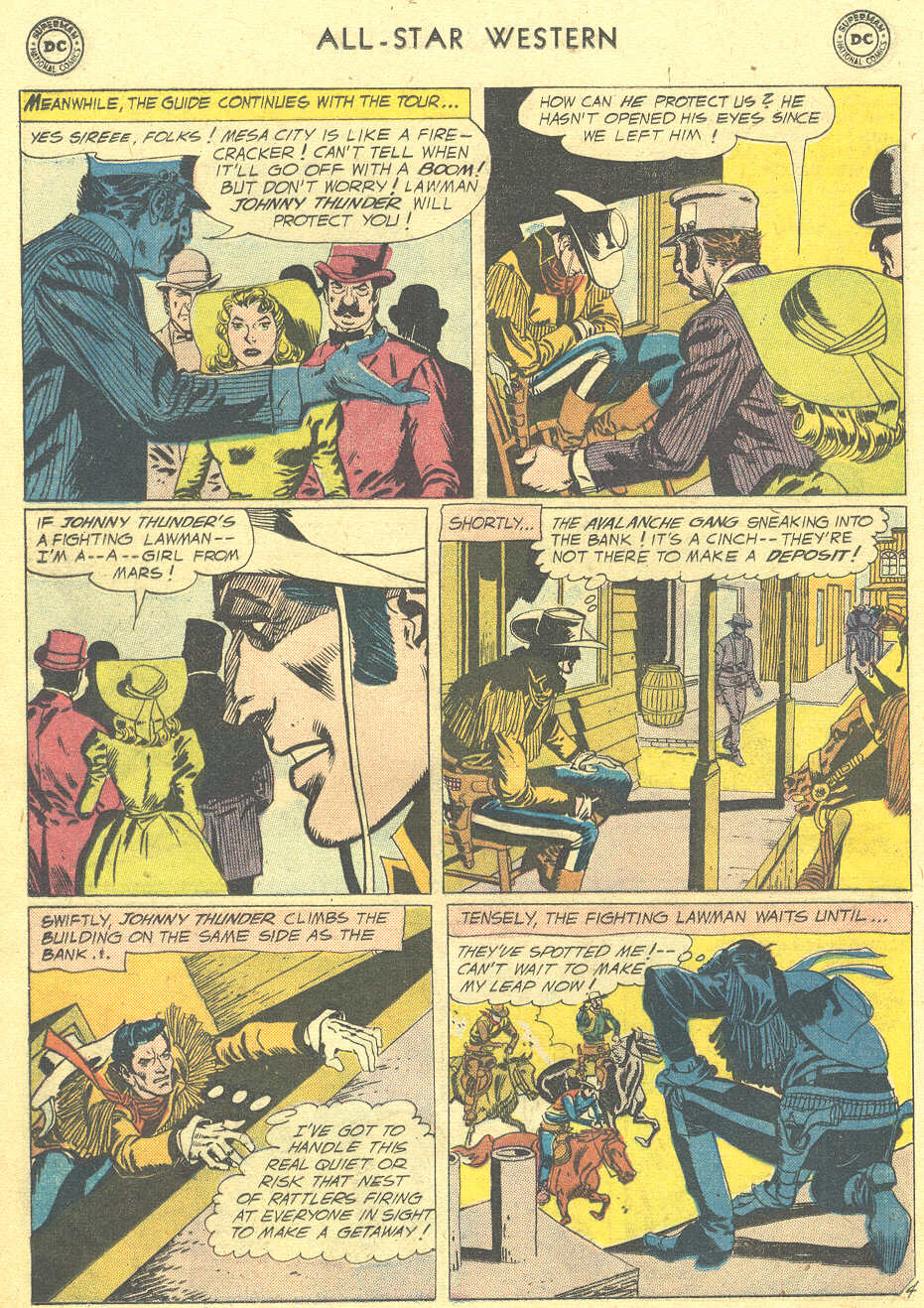 Read online All-Star Western (1951) comic -  Issue #105 - 28