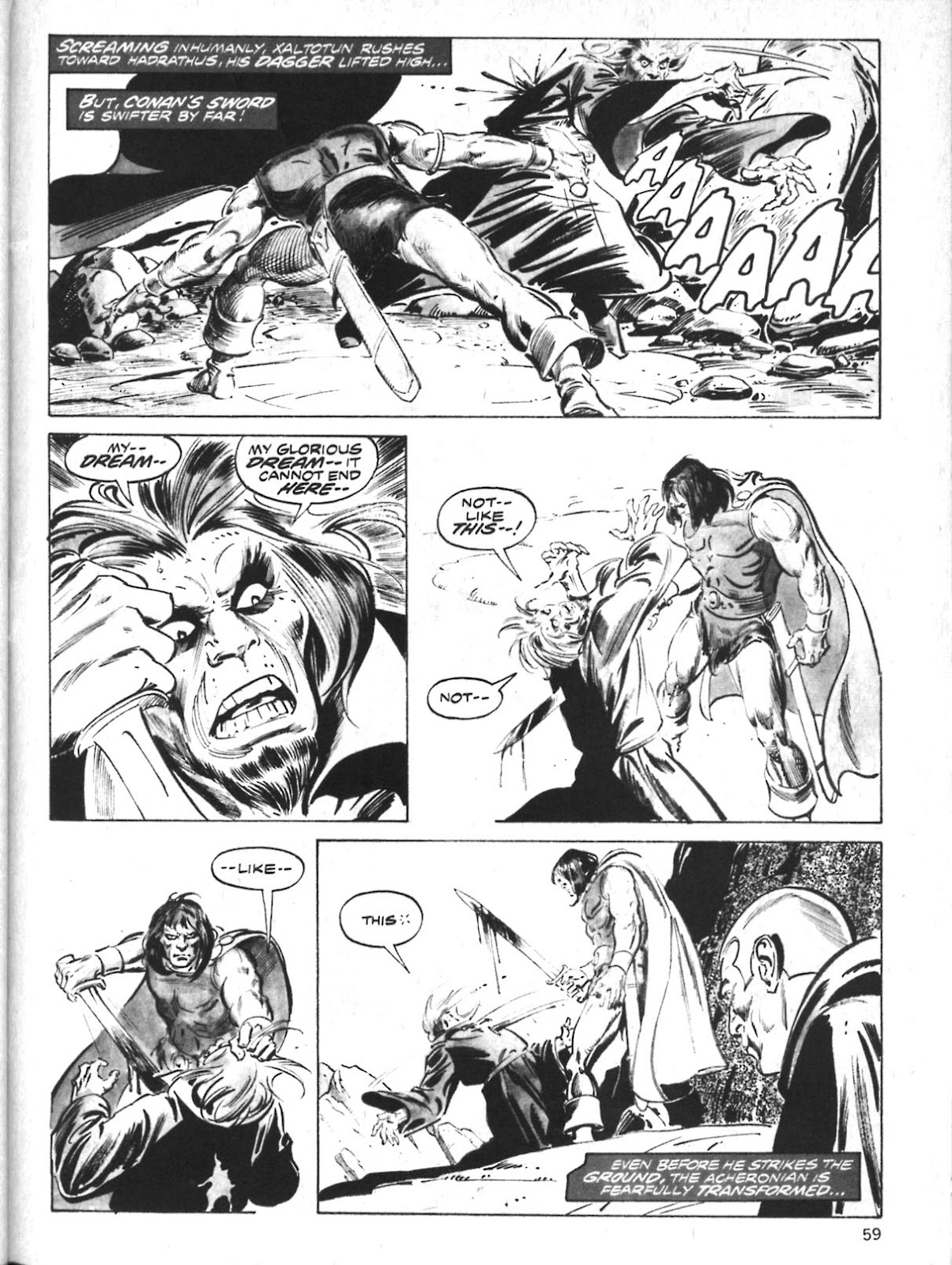 The Savage Sword Of Conan Issue #10 #11 - English 47