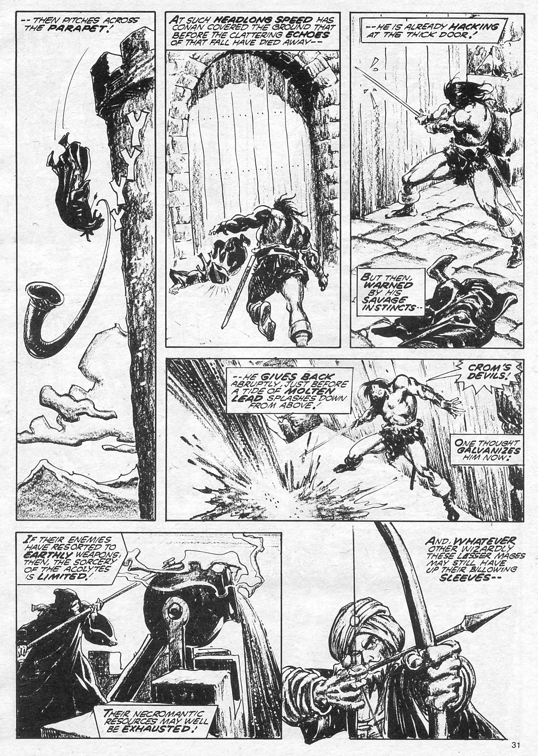 The Savage Sword Of Conan Issue #18 #19 - English 31