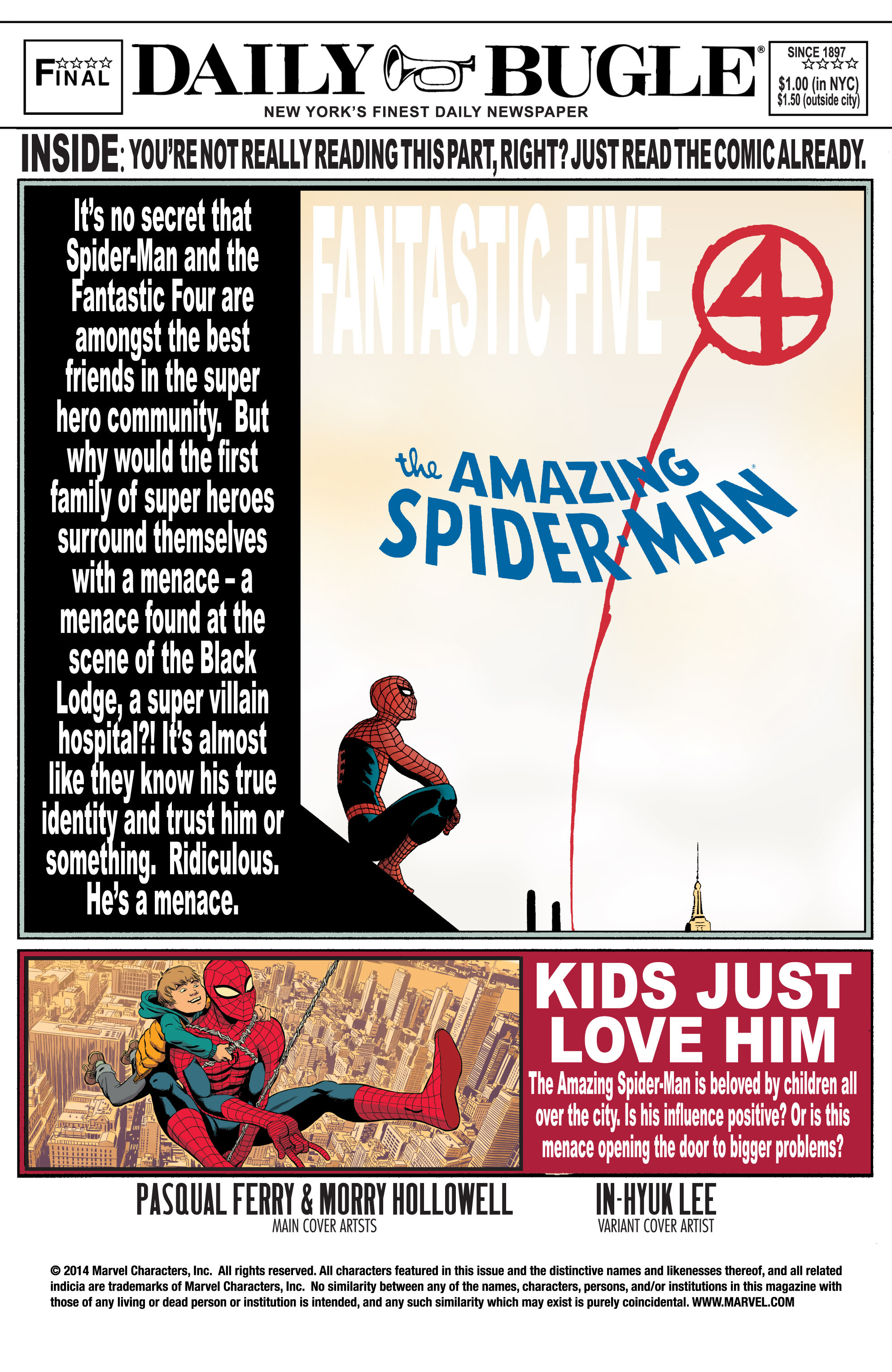 The Amazing Spider-Man (1963) chap 5 pic 2