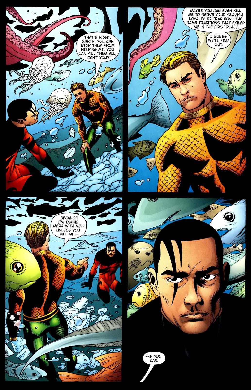 Aquaman (2003) Issue #34 #34 - English 13