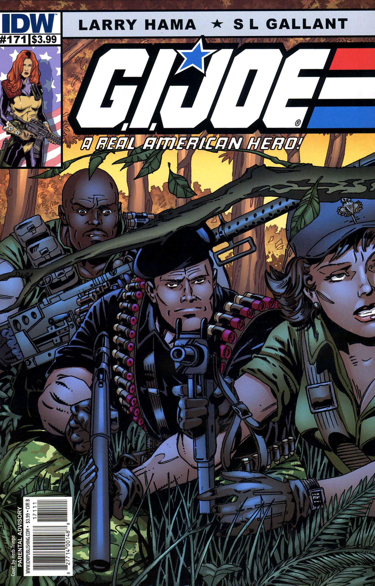 G.I. Joe: A Real American Hero 171 Page 1
