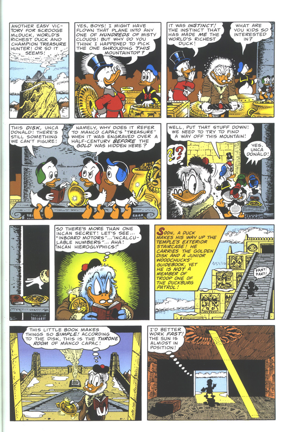 Uncle Scrooge (1953) Issue #335 #335 - English 19