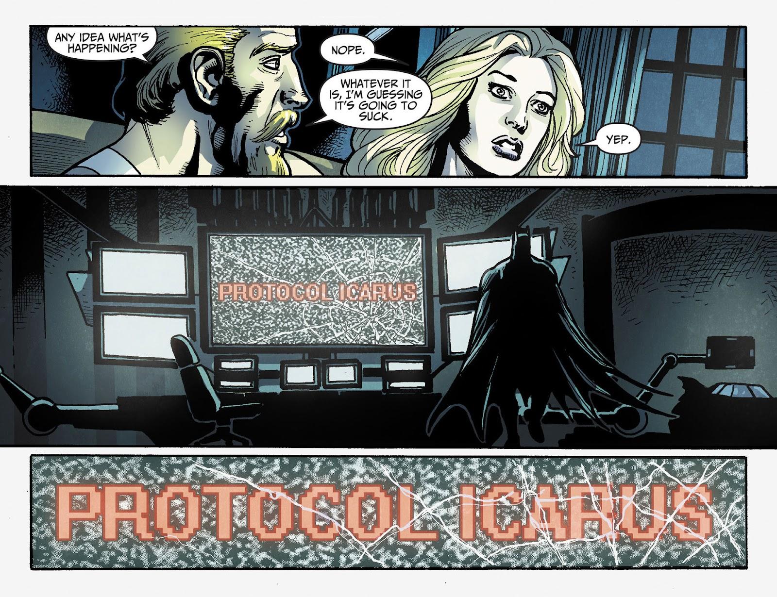 Injustice: Gods Among Us [I] Issue #28 #29 - English 10