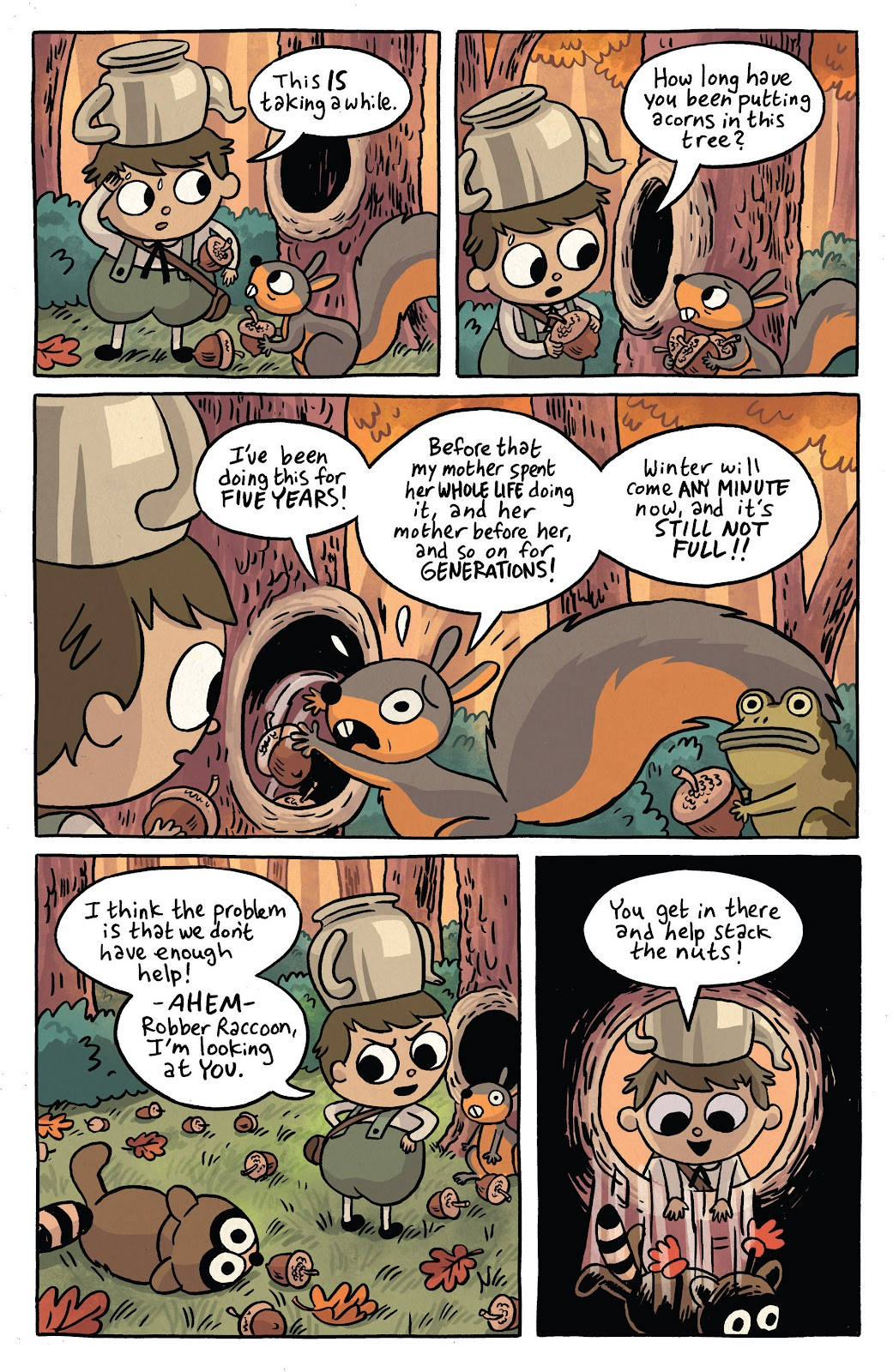 Over the Garden Wall (2016) Issue #2 #2 - English 7