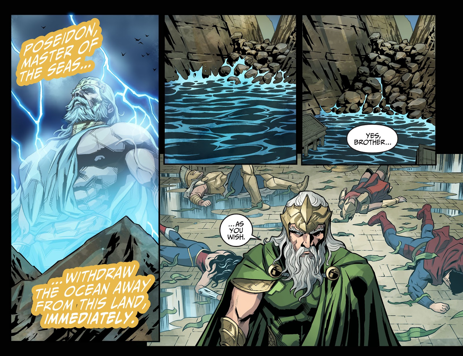 Injustice: Gods Among Us Year Four Issue #20 #21 - English 16