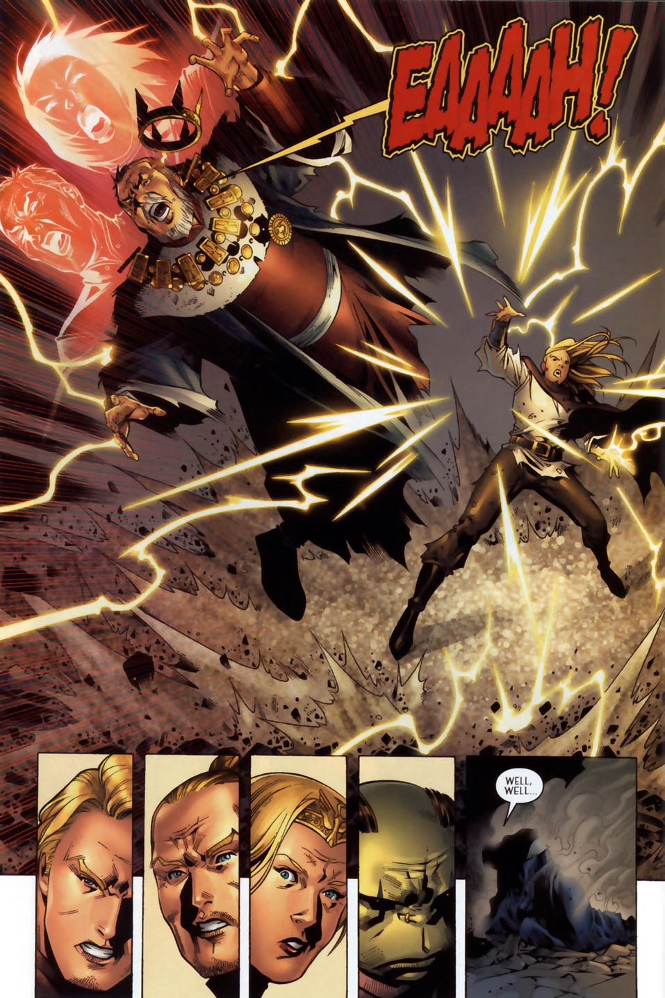 Read online Scion comic -  Issue #36 - 15