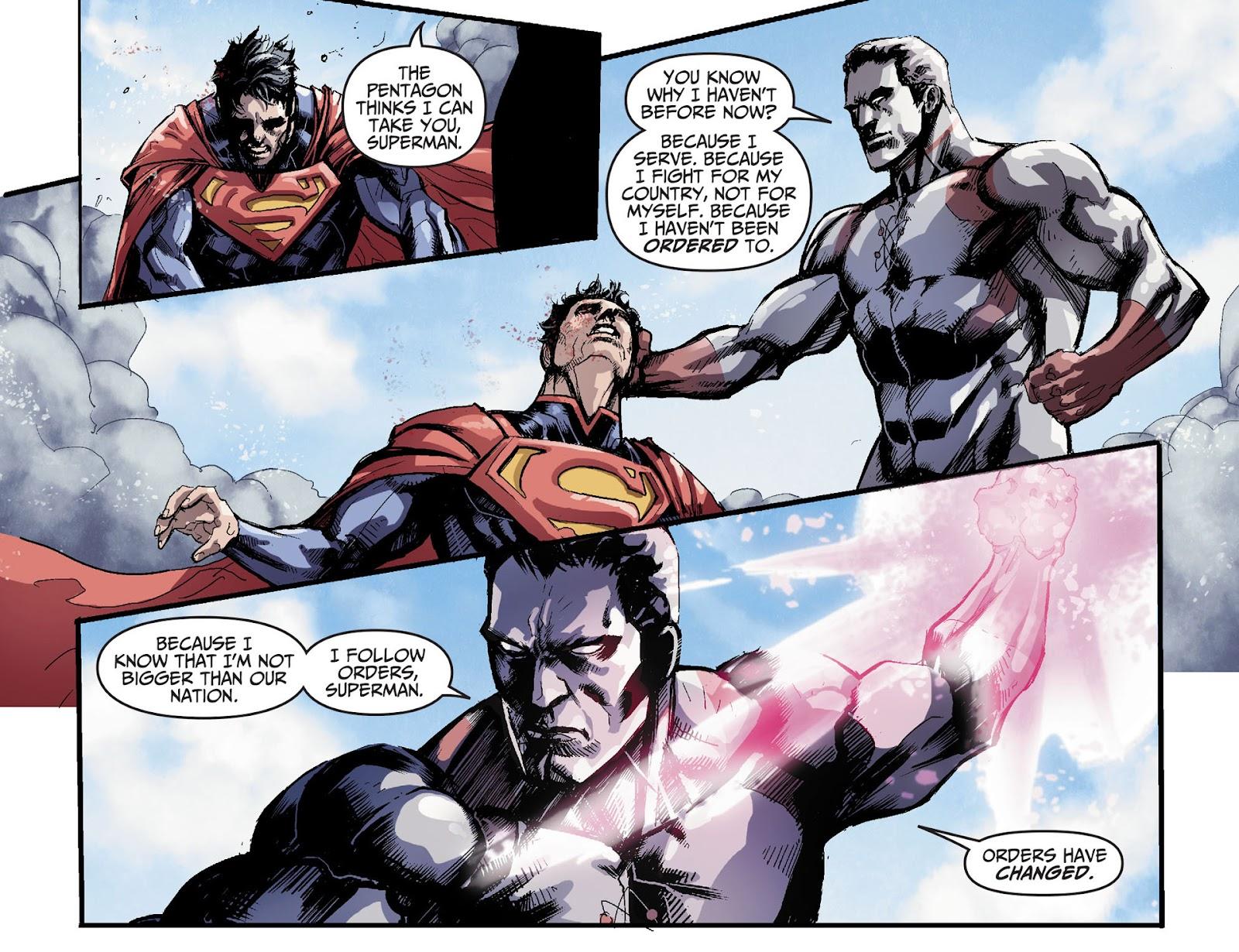 Injustice: Gods Among Us [I] Issue #32 #33 - English 12
