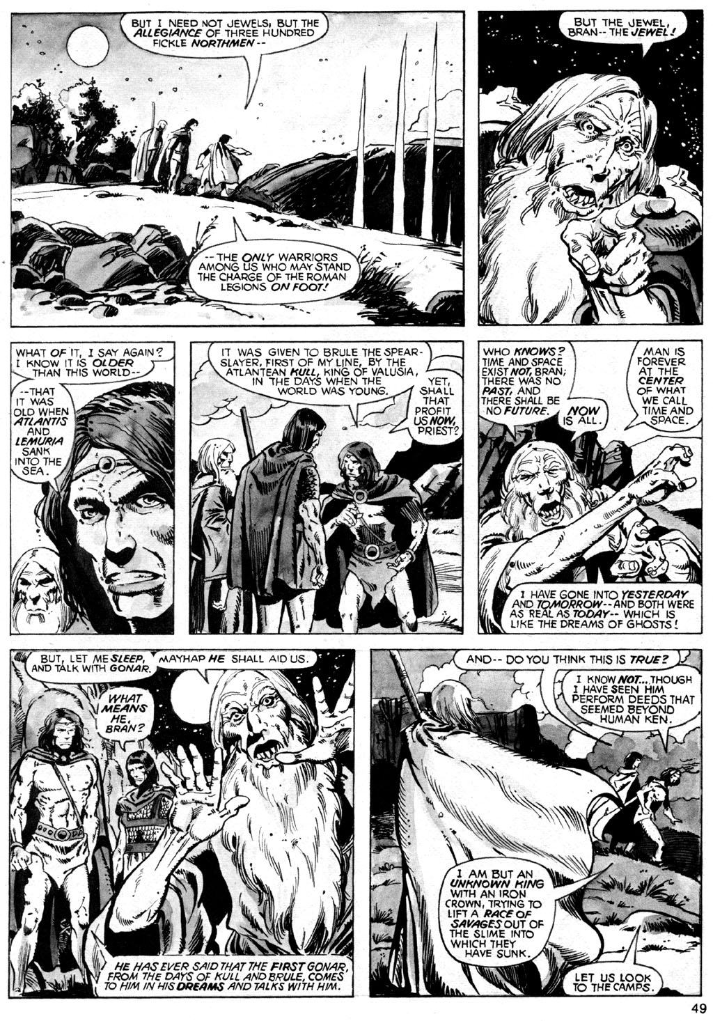 The Savage Sword Of Conan Issue #42 #43 - English 49