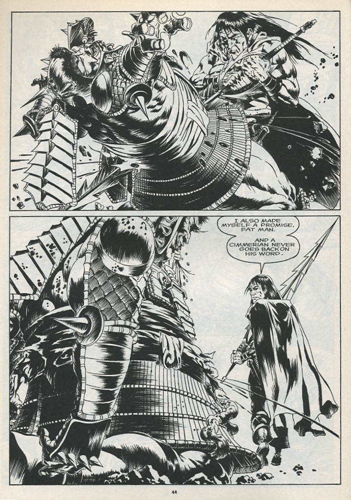 The Savage Sword Of Conan Issue #175 #176 - English 46