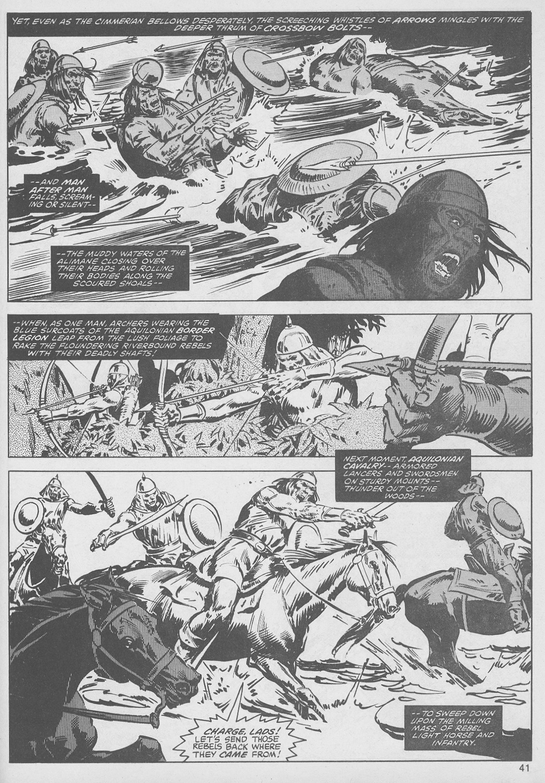 The Savage Sword Of Conan Issue #49 #50 - English 41