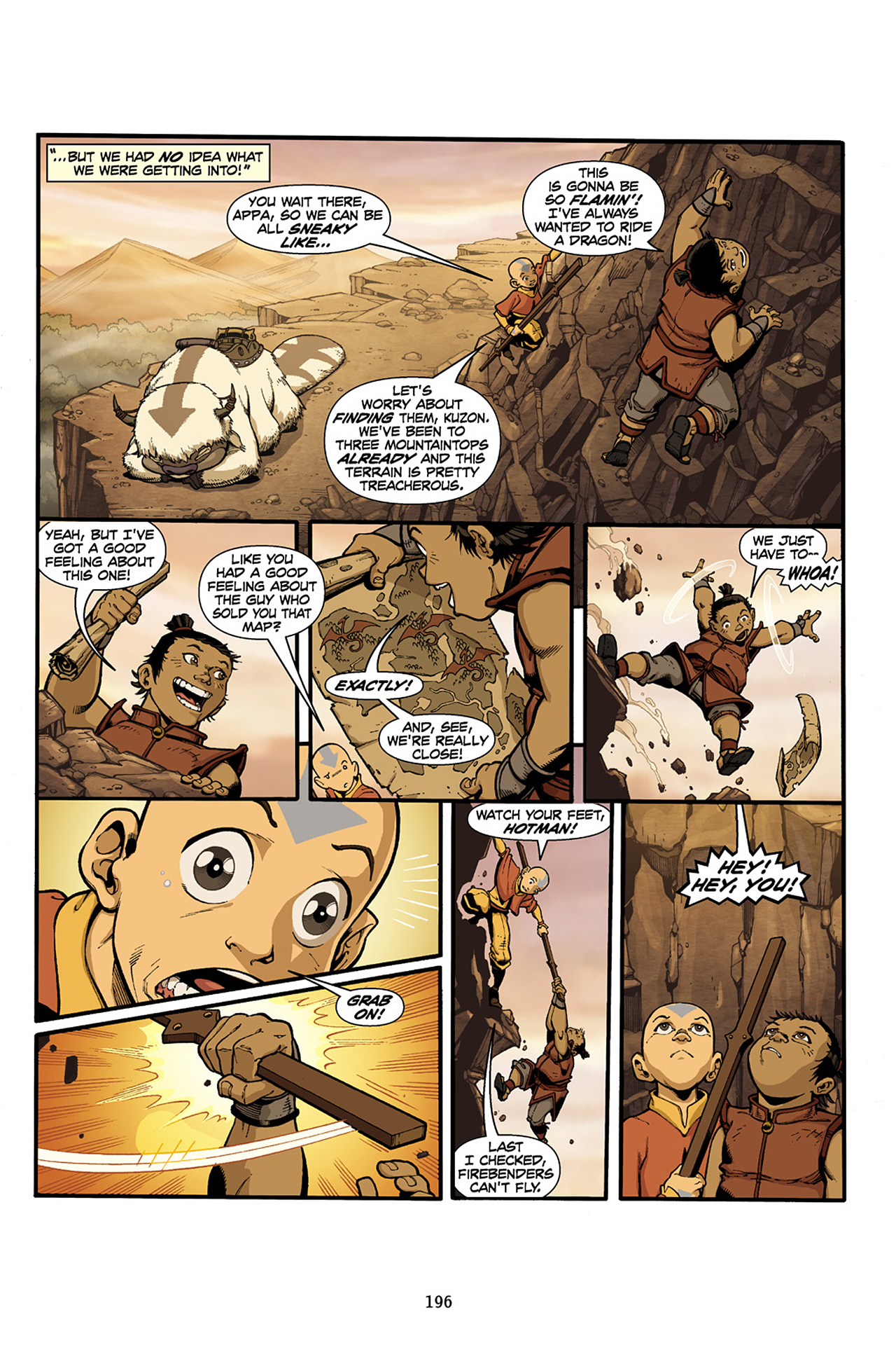 Nickelodeon Avatar: The Last Airbender - The Lost Adventures chap full pic 197