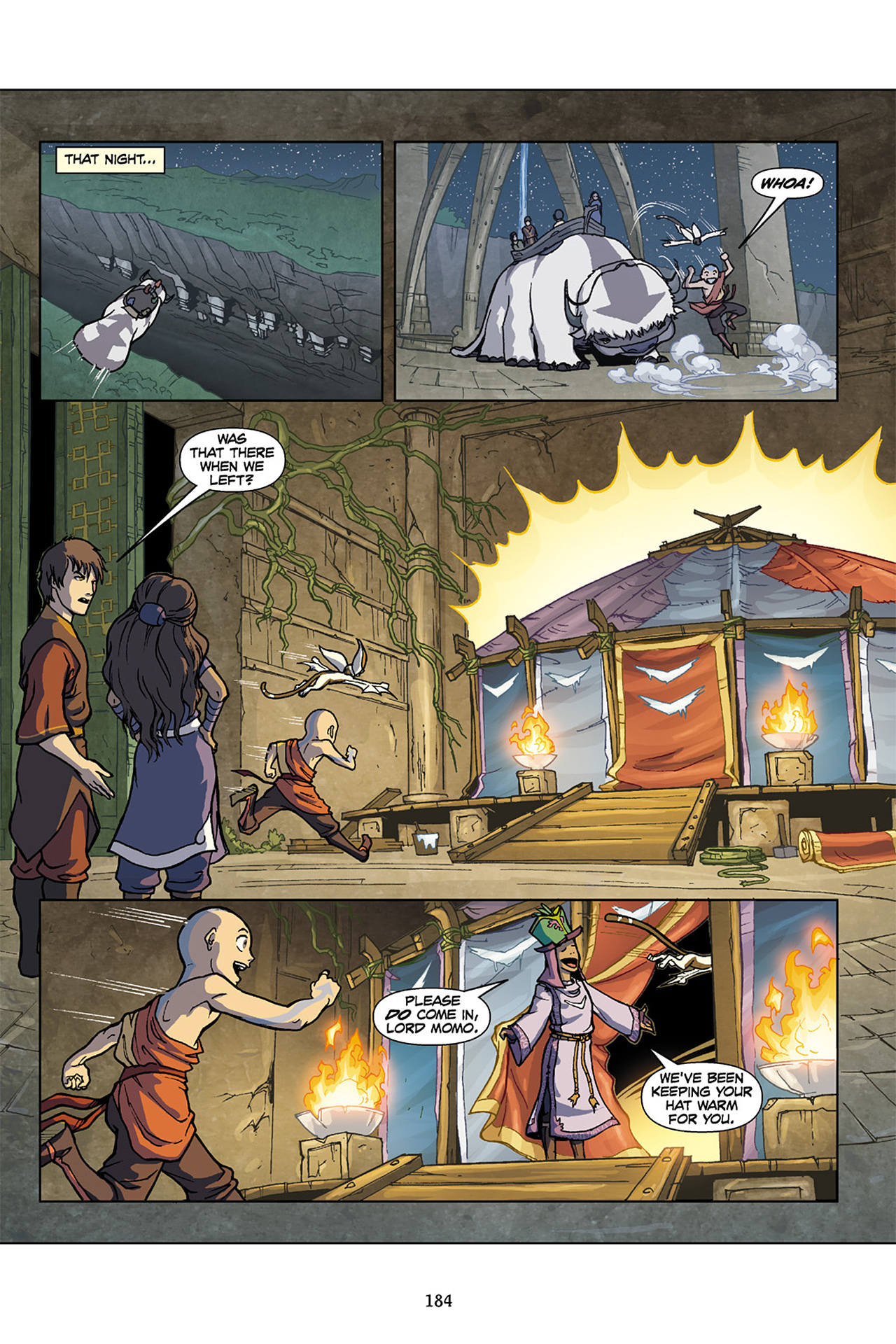 Nickelodeon Avatar: The Last Airbender - The Lost Adventures chap full pic 185