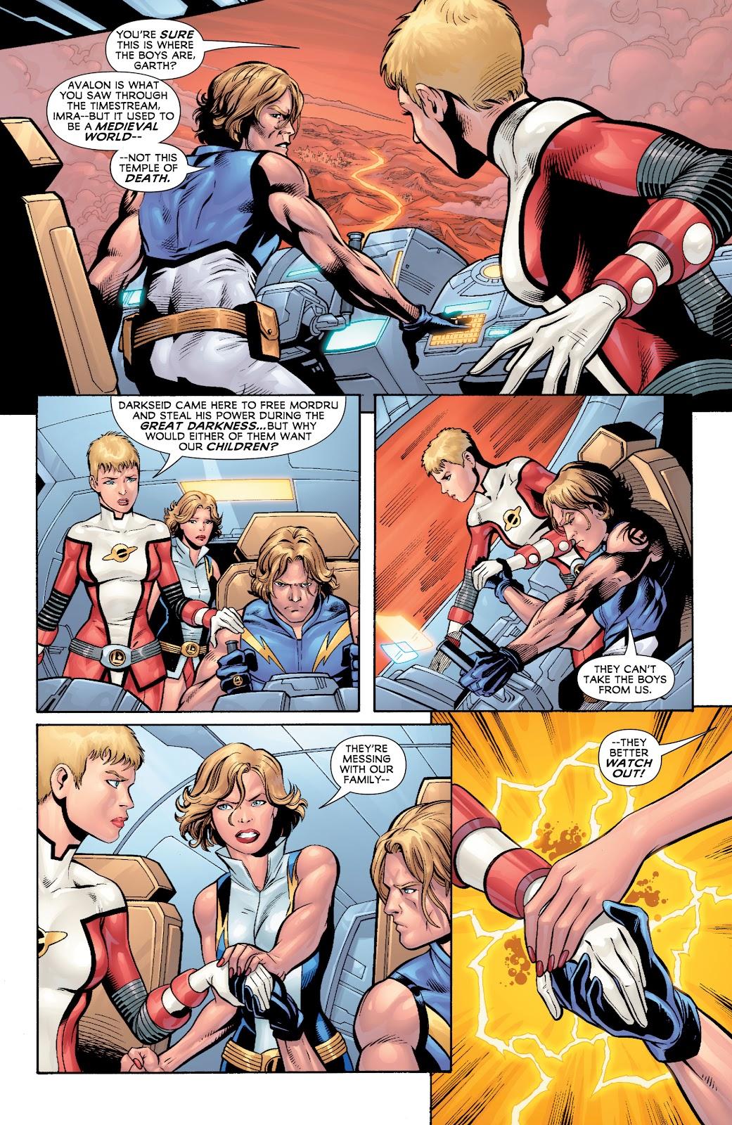 Legion of Super-Heroes (2010) Issue #4 #5 - English 4
