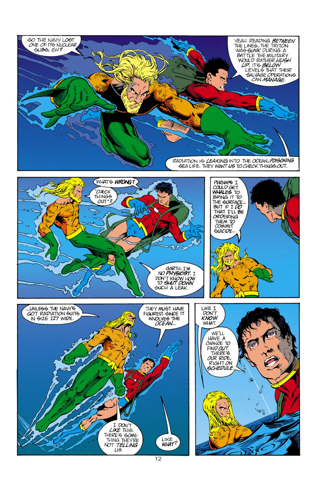 Aquaman (1994) Issue #1 #7 - English 13