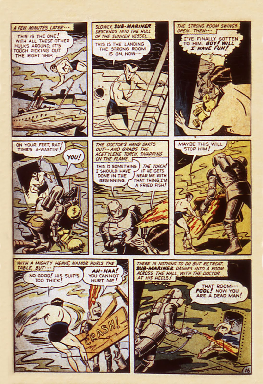 Sub-Mariner Comics Issue #7 #7 - English 18