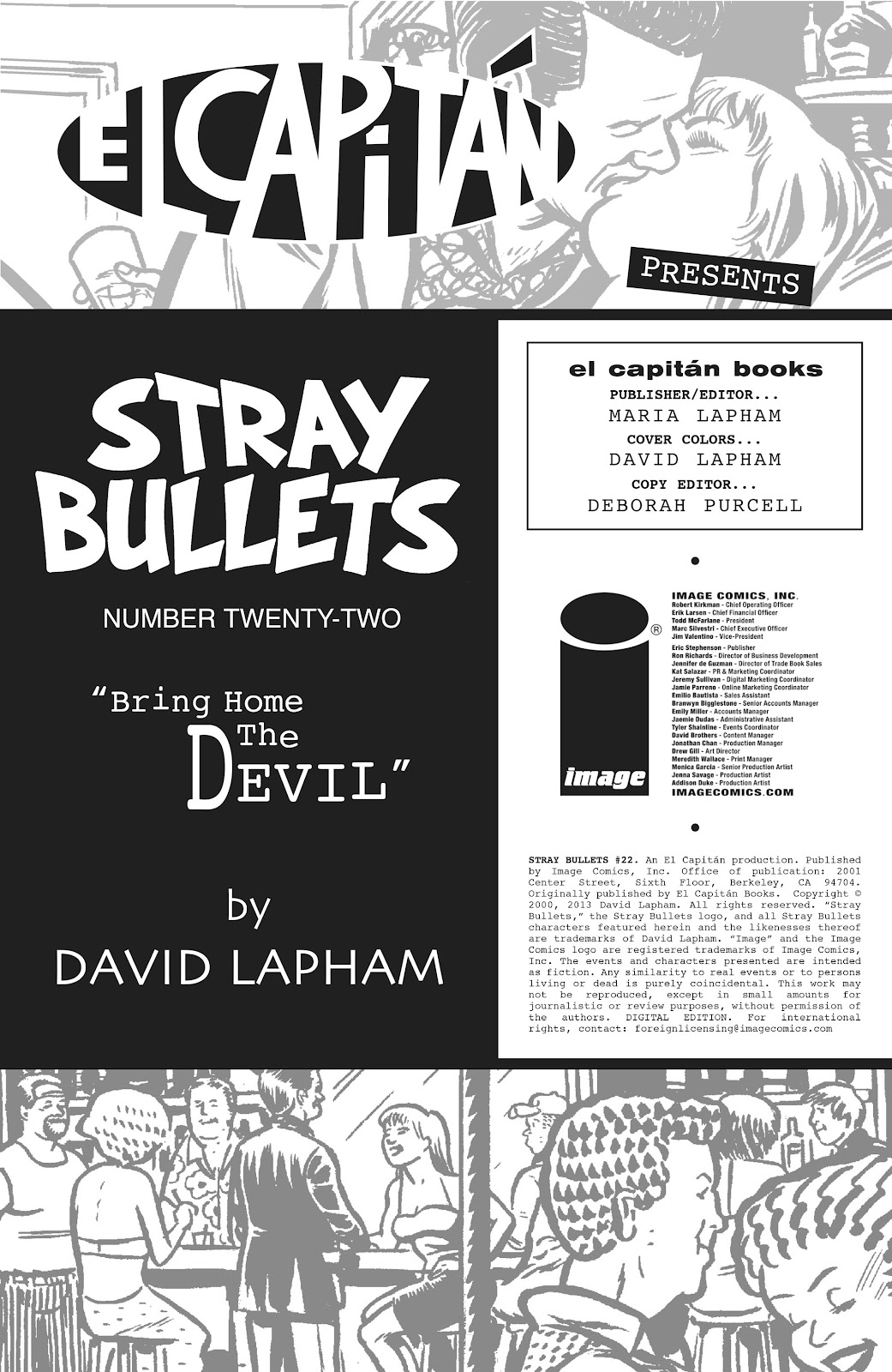 Stray Bullets Issue #22 #22 - English 2