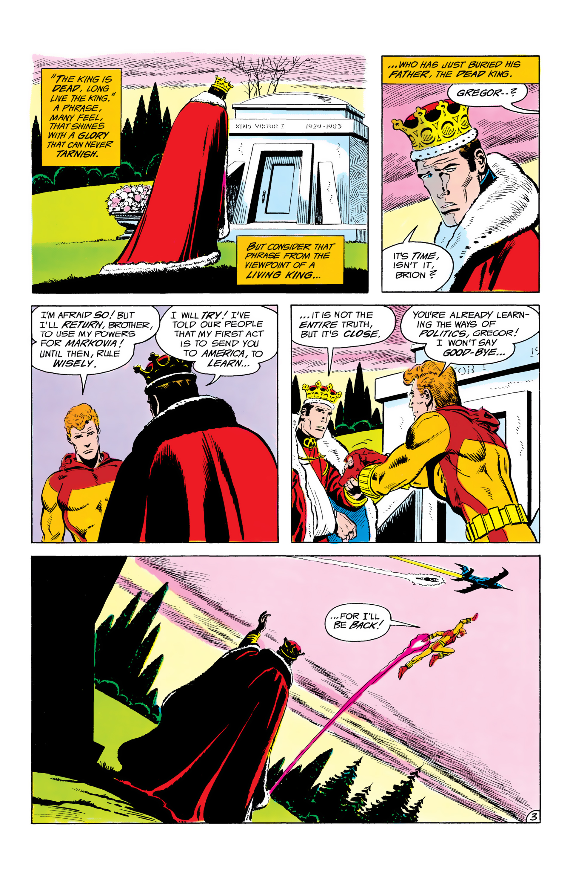 Batman and the Outsiders (1983) 3 Page 3