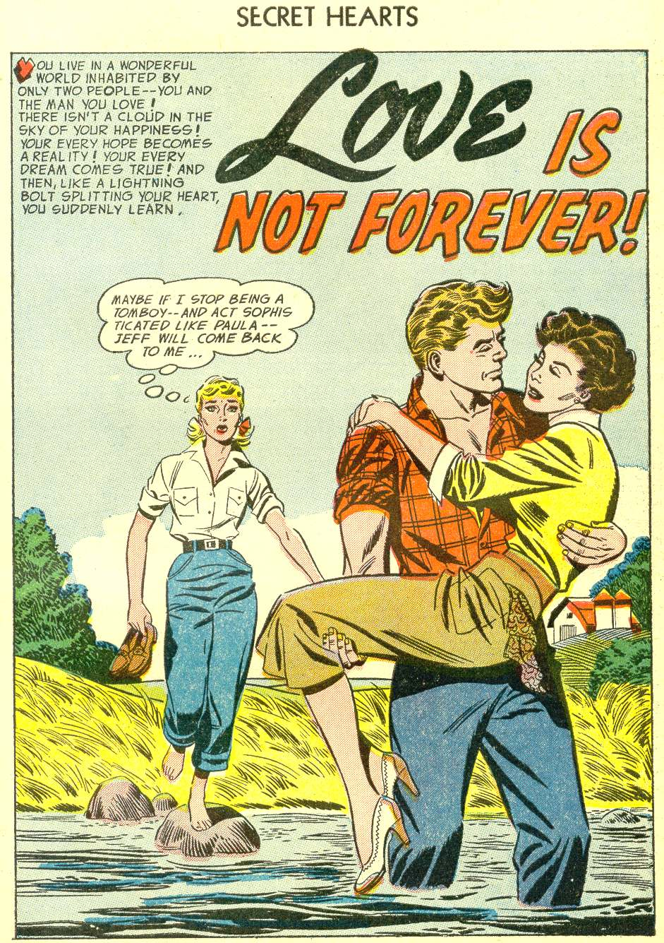 Read online Secret Hearts comic -  Issue #21 - 27