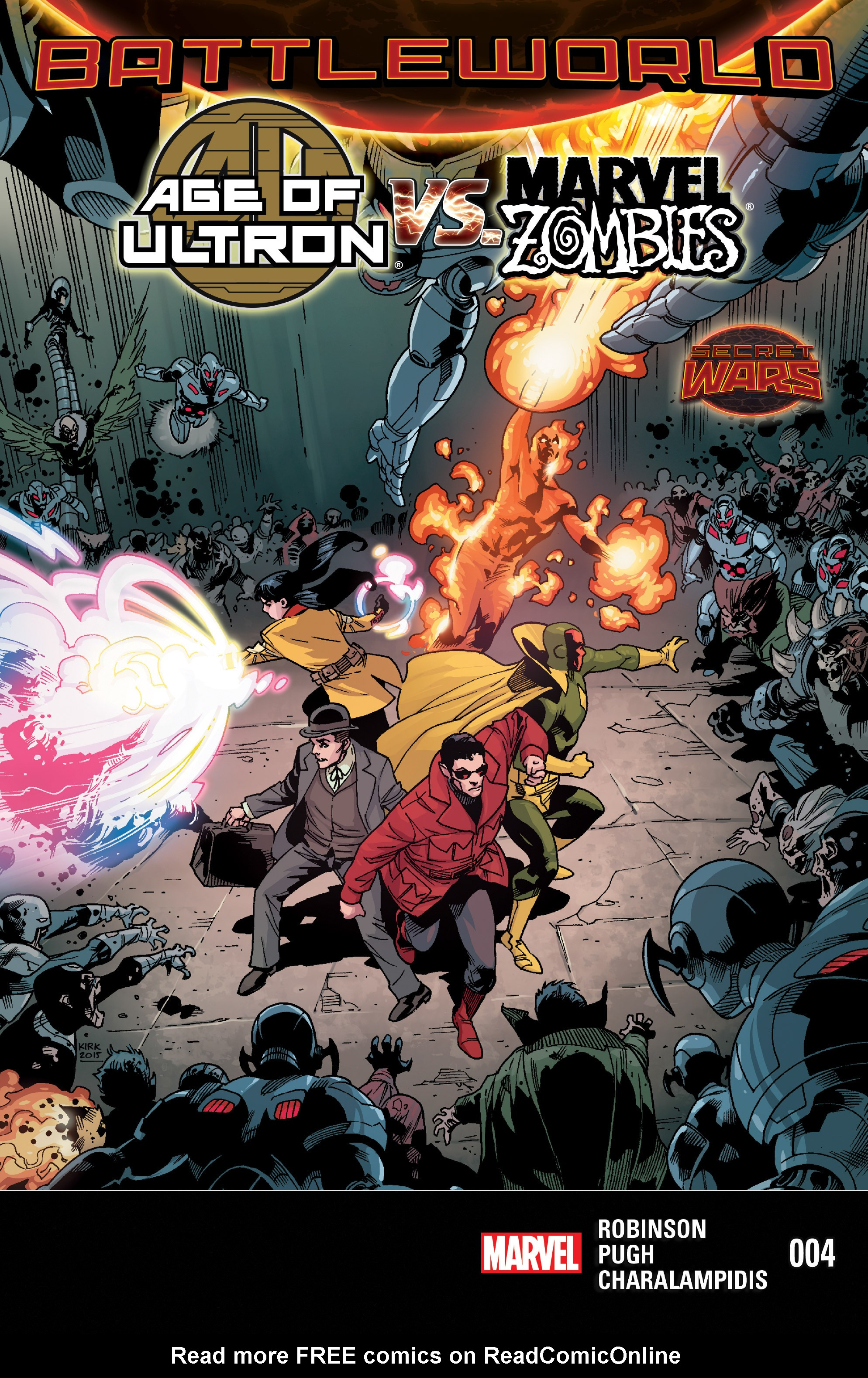 Age of Ultron Vs. Marvel Zombies 4 Page 1