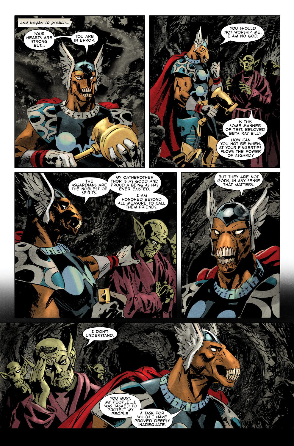 Read online Secret Invasion Aftermath: Beta Ray Bill - The Green of Eden comic -  Issue # Full - 19