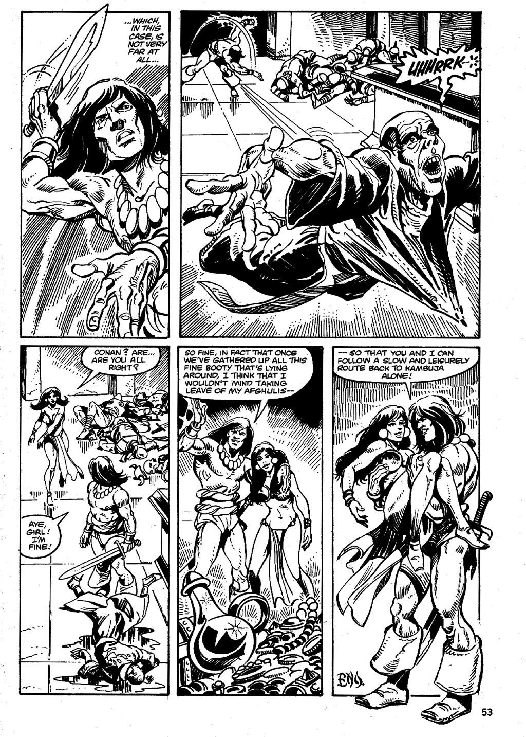 The Savage Sword Of Conan Issue #86 #87 - English 53