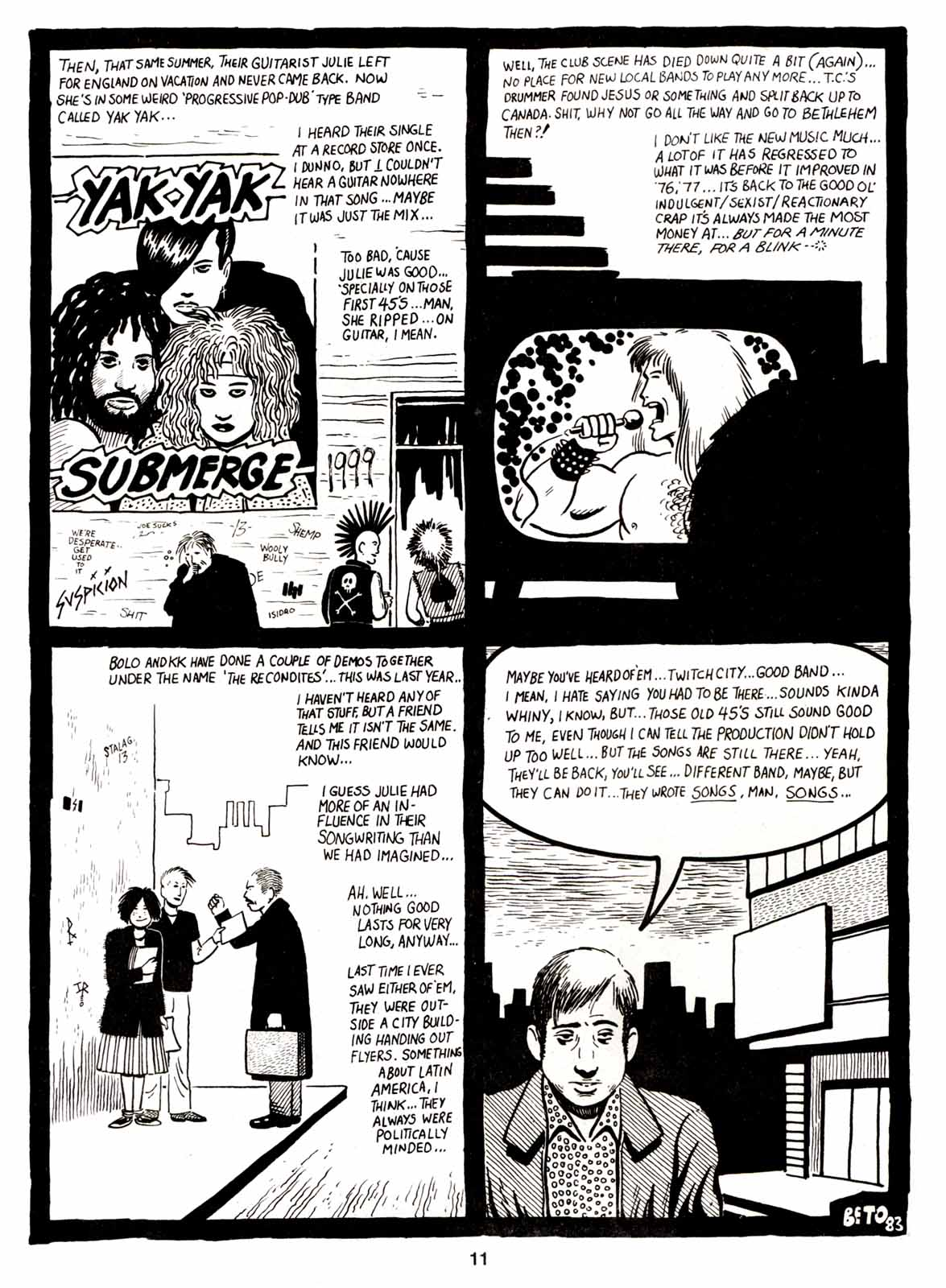 Love and Rockets (1982) Issue #5 #4 - English 13
