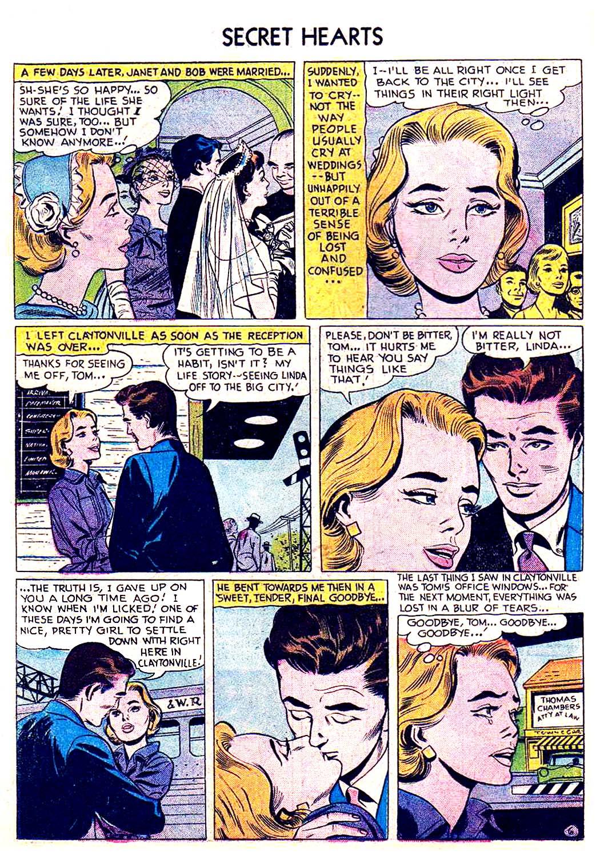 Read online Secret Hearts comic -  Issue #41 - 22