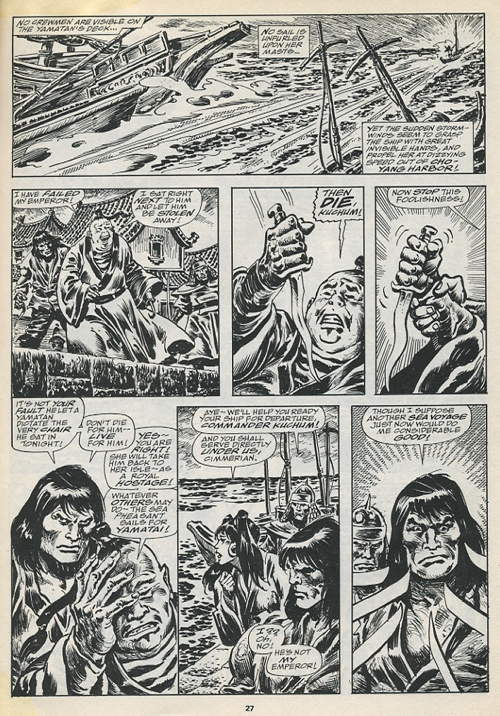 The Savage Sword Of Conan Issue #194 #195 - English 29