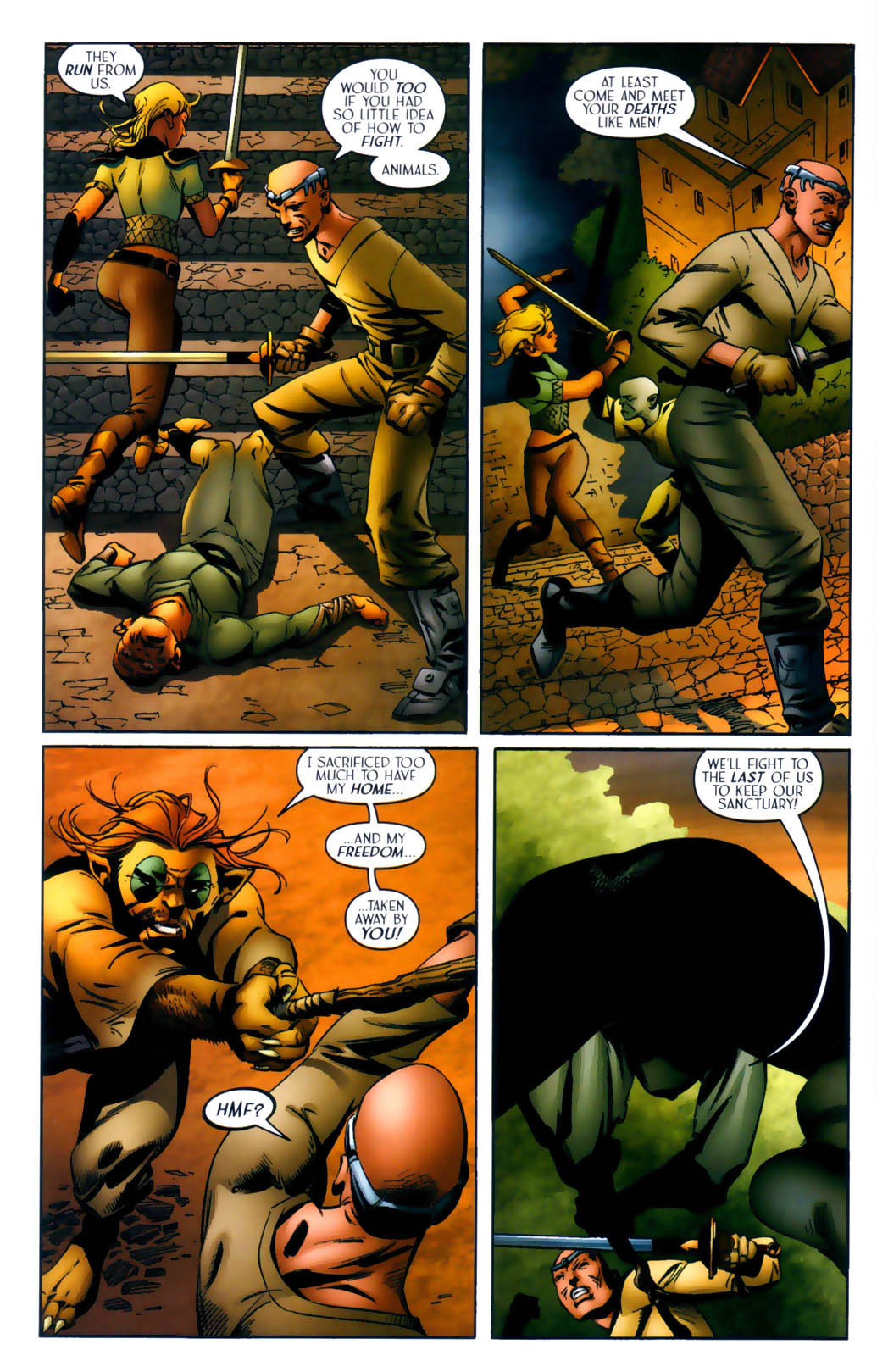 Read online Scion comic -  Issue #30 - 8