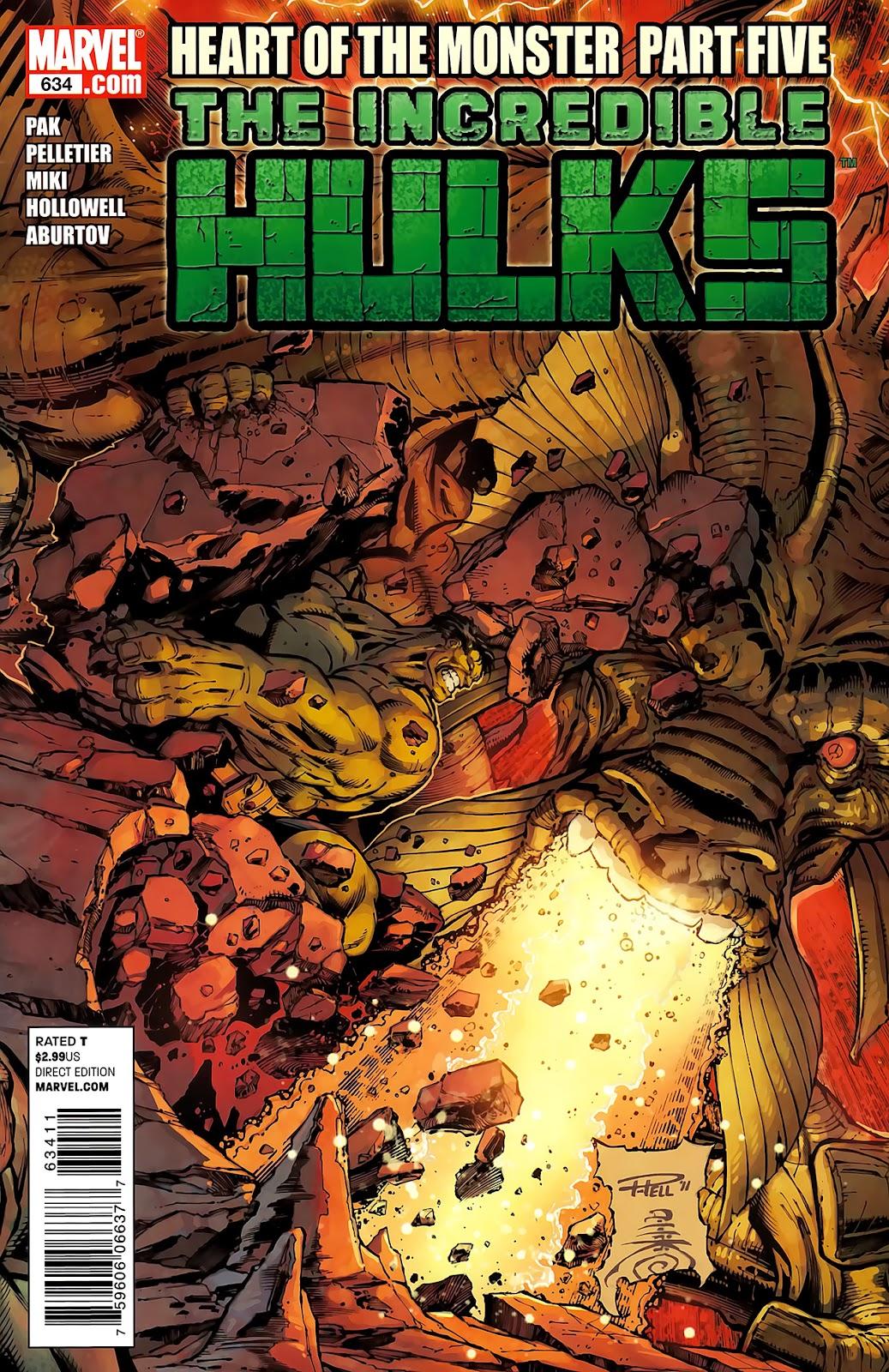 Incredible Hulks (2010) Issue #634 #24 - English 1