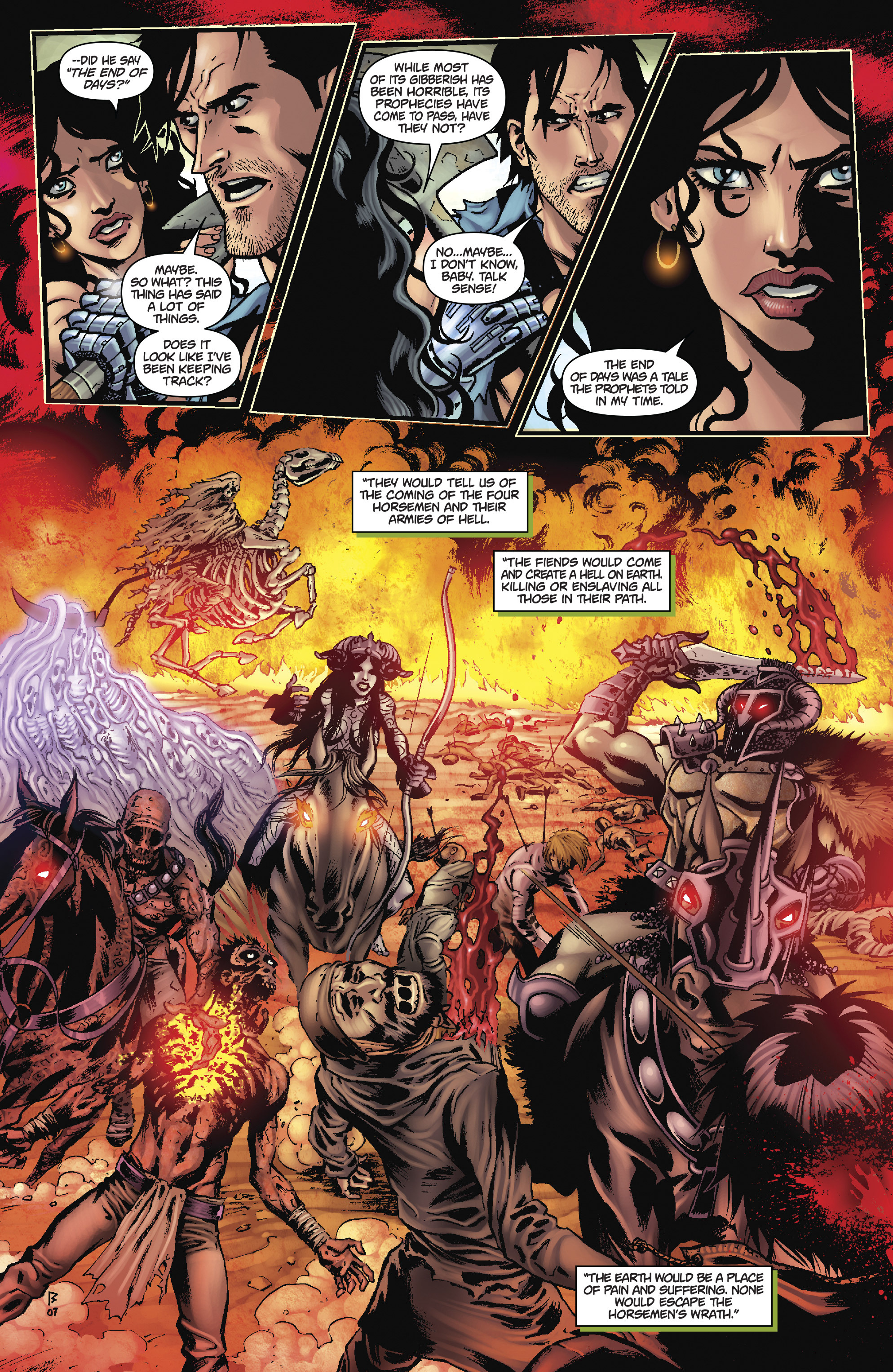 Army of Darkness: The Long Road Home TPB Page 23