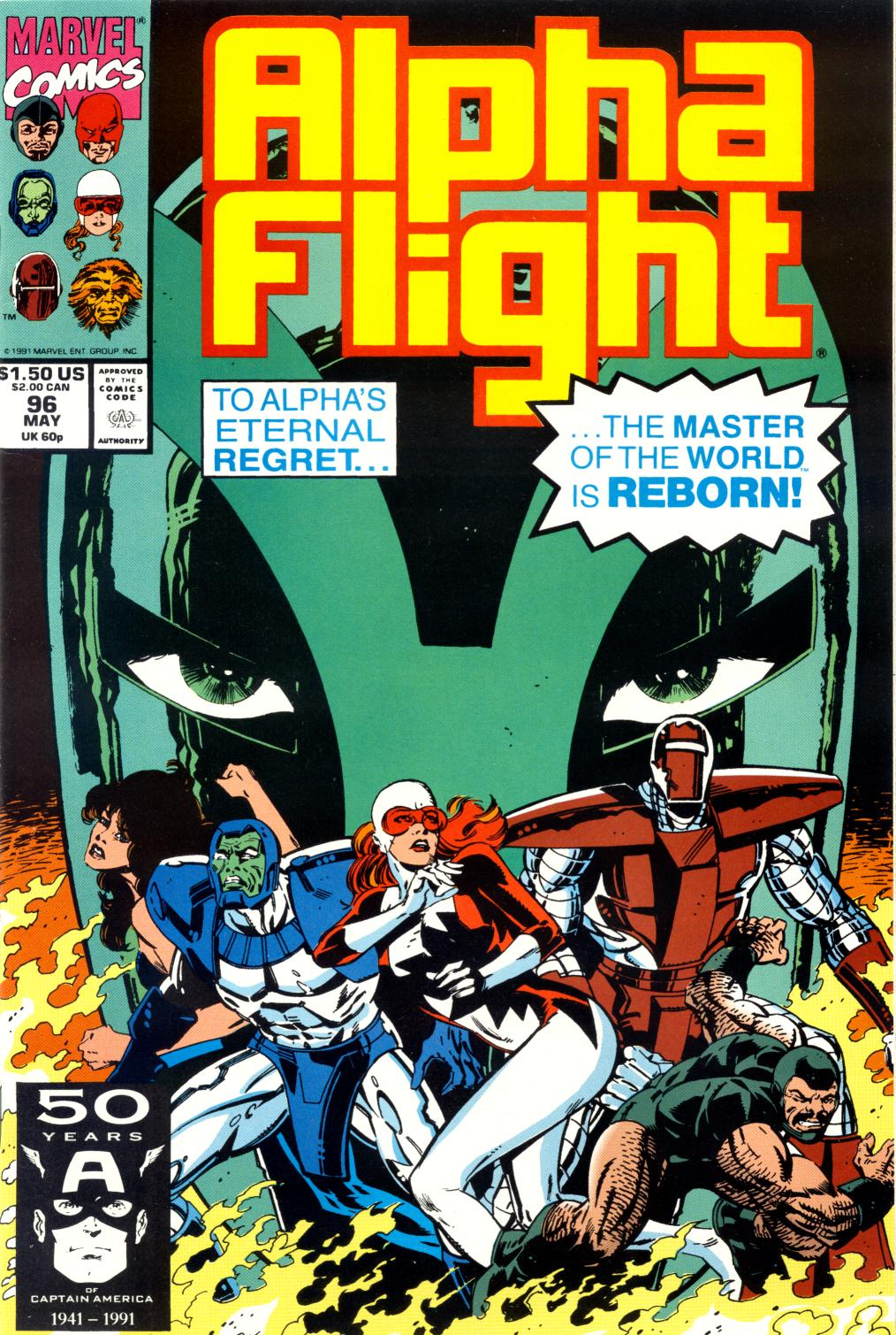 Alpha Flight (1983) 96 Page 1